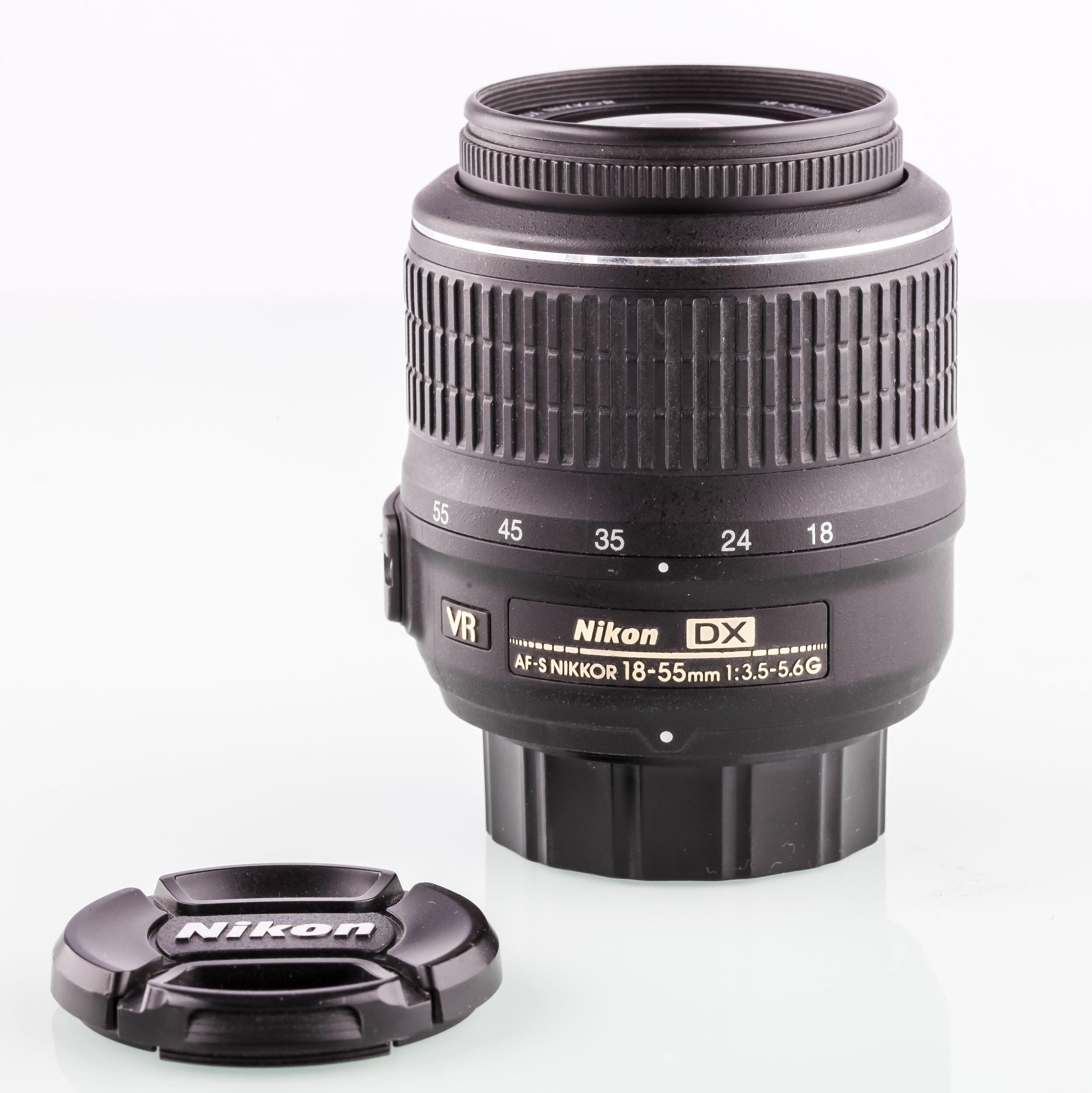 Nikon AF-S Nikkor 18-55mm 3,5-5,6G