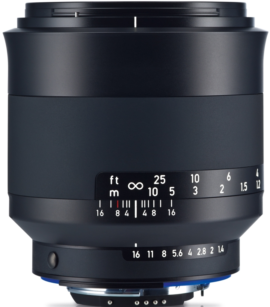 ZEISS Milvus 50mm 1:1,4 ZF.2 f. Nikon
