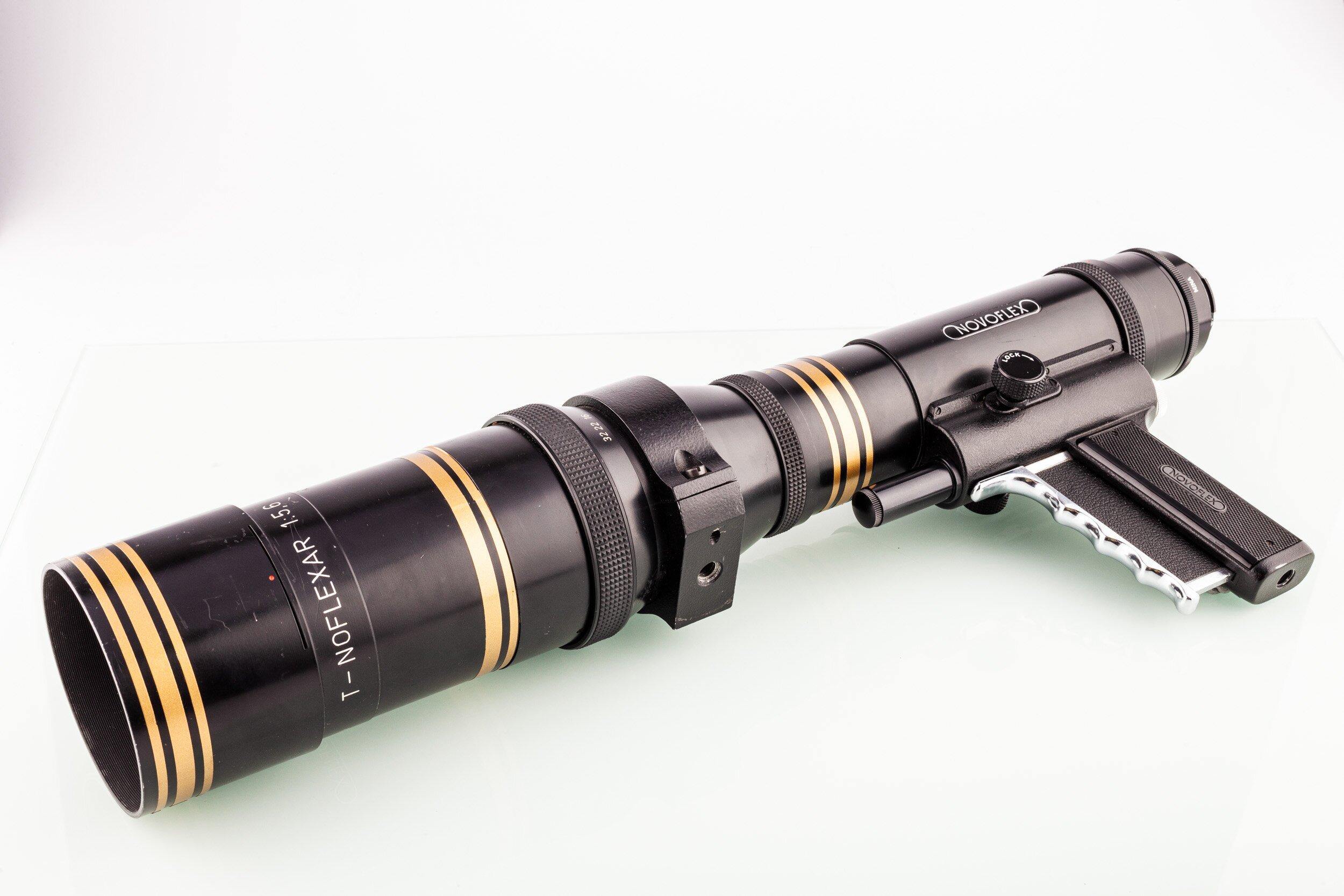 Novoflex Noflexar 5,6/400mm Schnellschuss