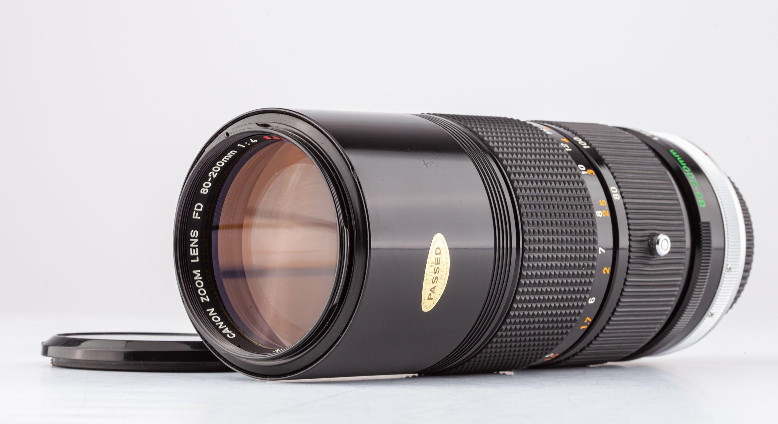 Canon FD 80-200mm F4.0
