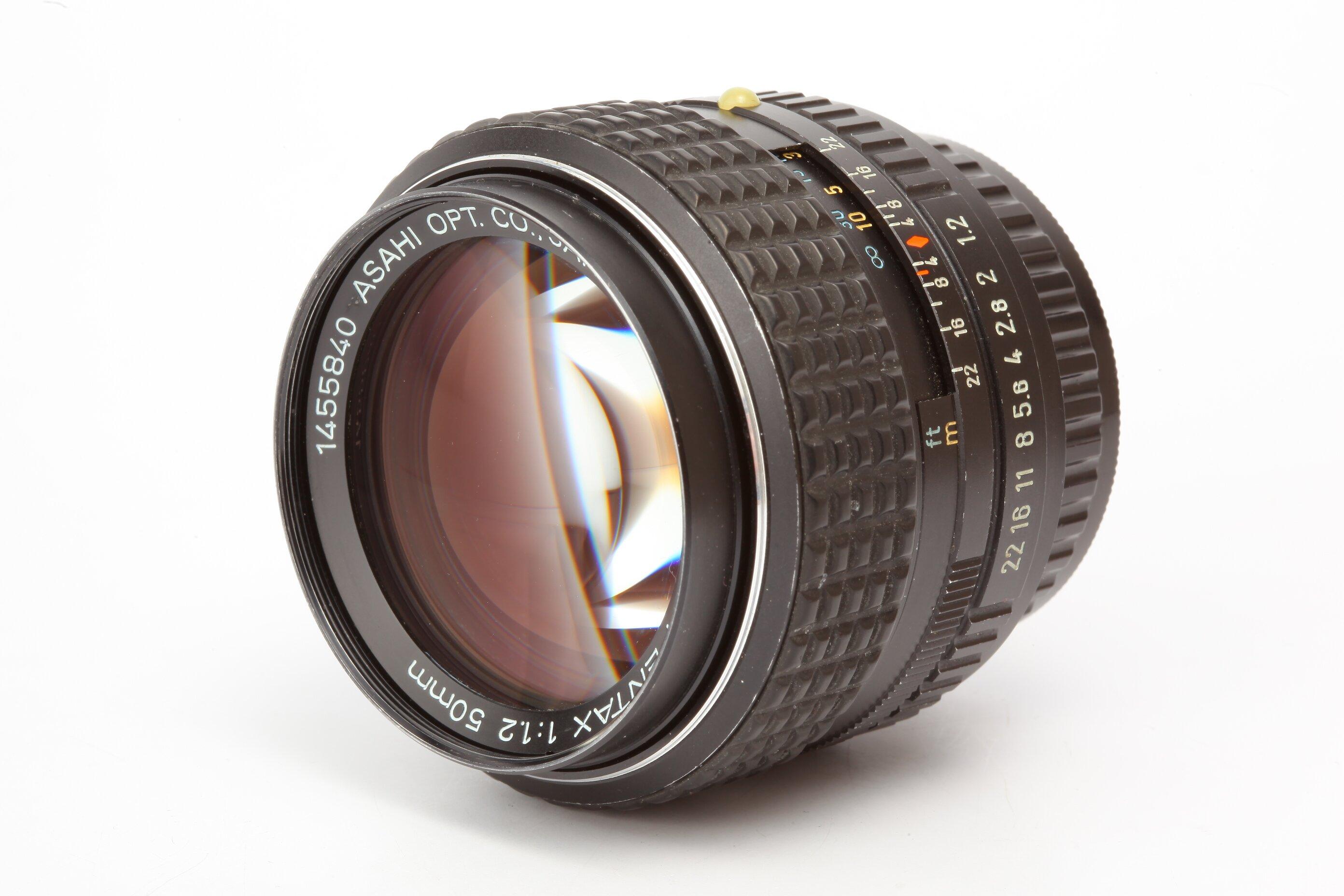 Pentax 1,2/50mm SMC Pentax-K