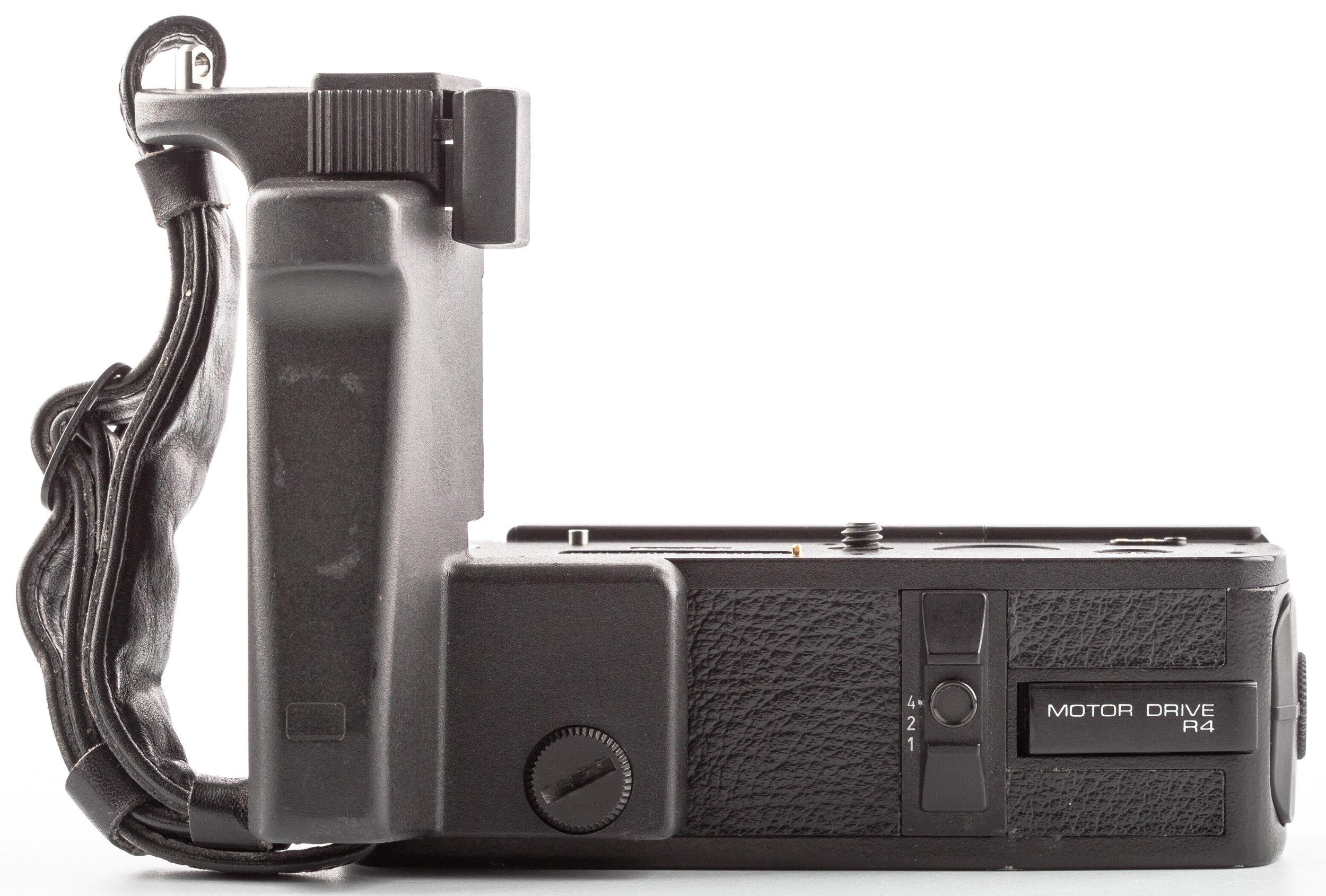 Leica Motordrive R4 14292 mit Griff 14283