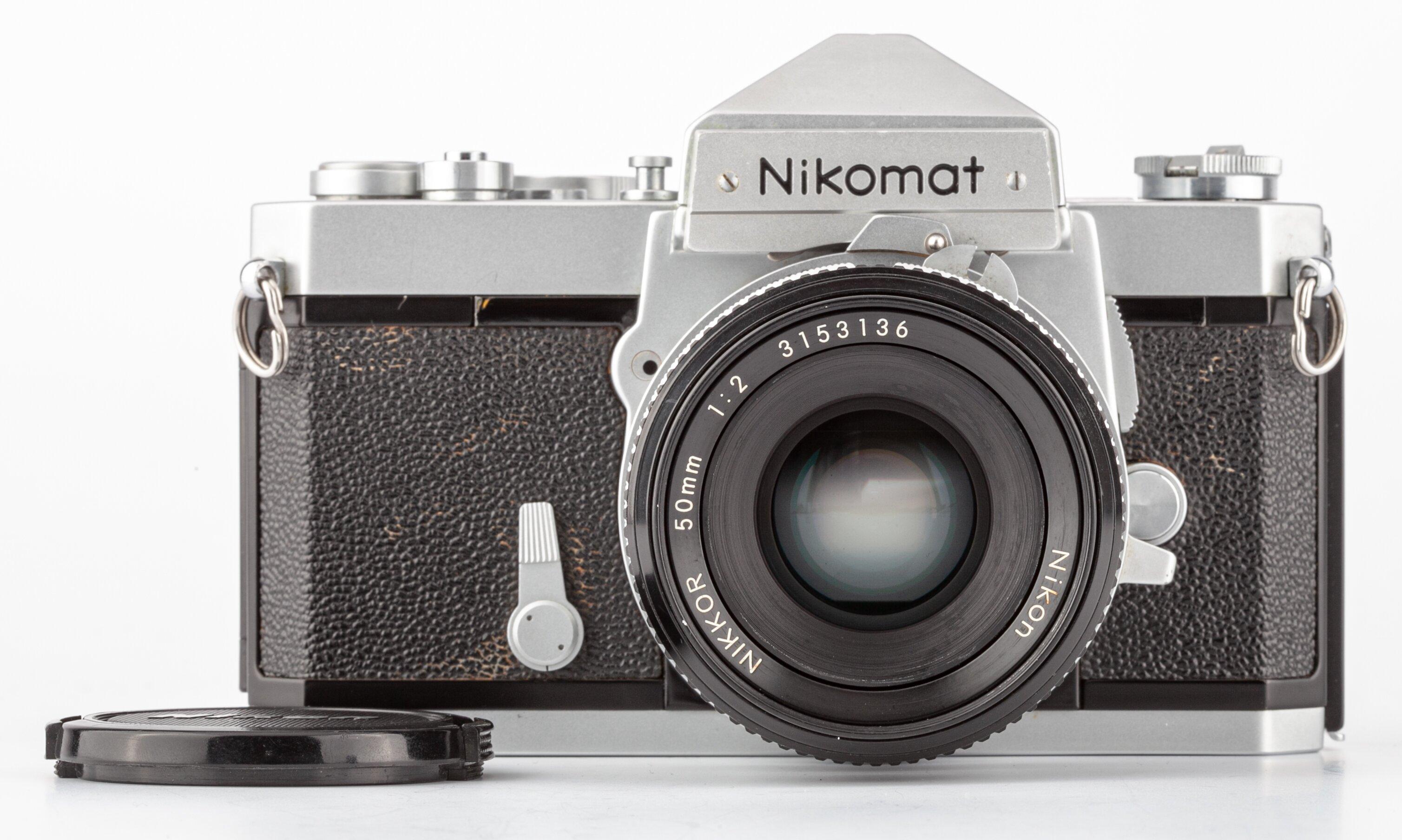 Nikomat FTn mit Nikkor 50mm 2 silber