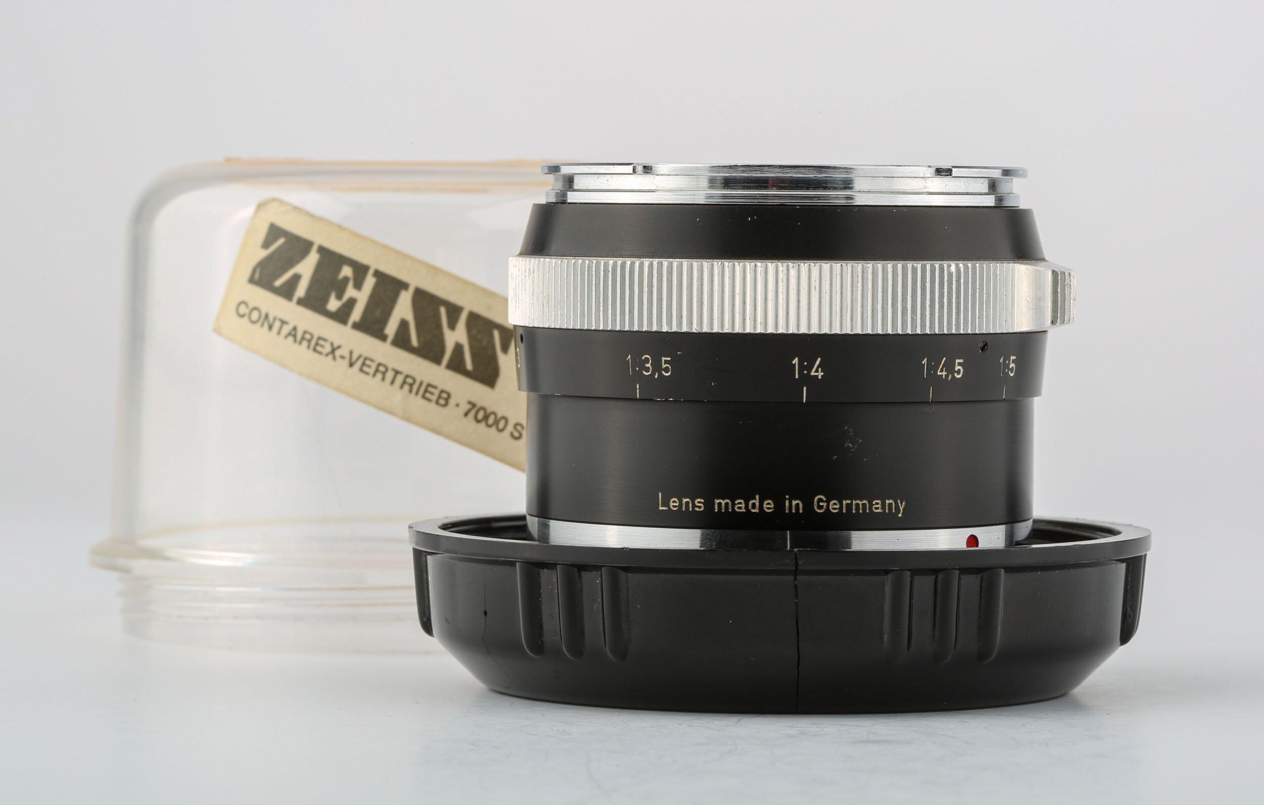 Contarex S-Planar 4/50mm schwarz