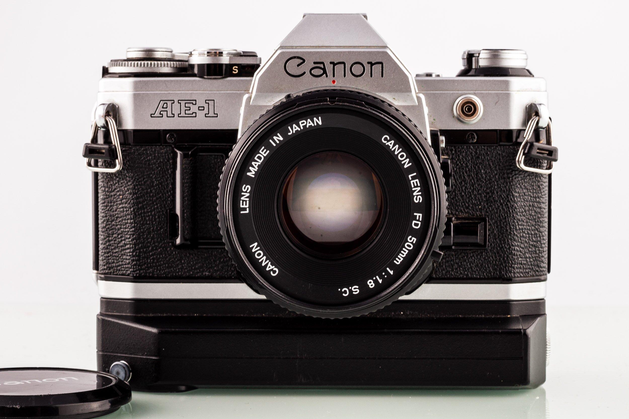 Canon AE-1 + Canon FD 50mm 1,8