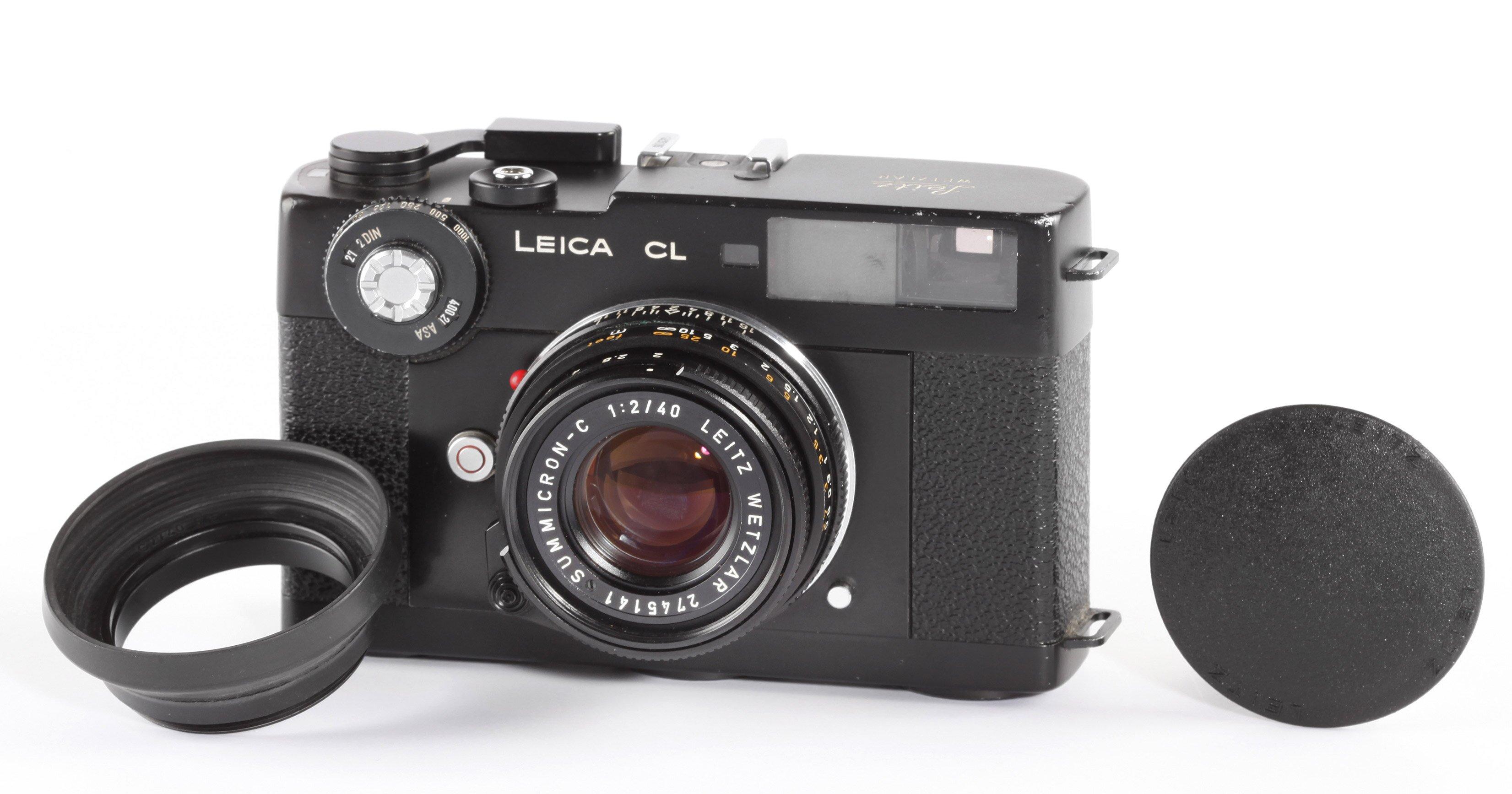 Leica CL Leitz Summicron-C 2/40mm