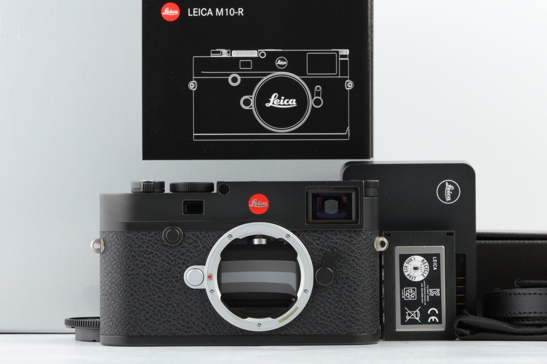 Leica M10-R Gehäuse schwarz verchromt 20002