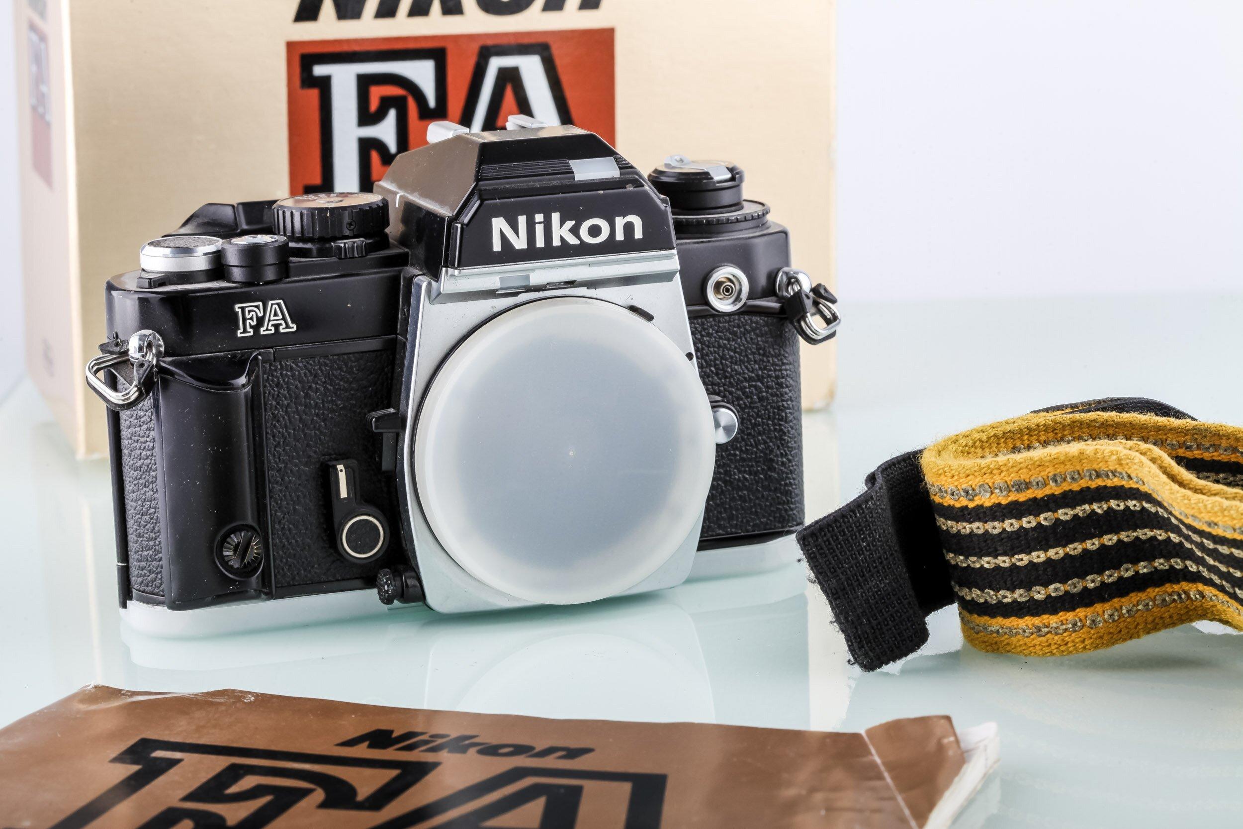 Nikon FA Gehäuse Analoge Spiegelreflexkamera