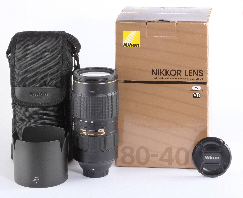Nikon AF-S 80-400mm 4,5-5,6 ED VR