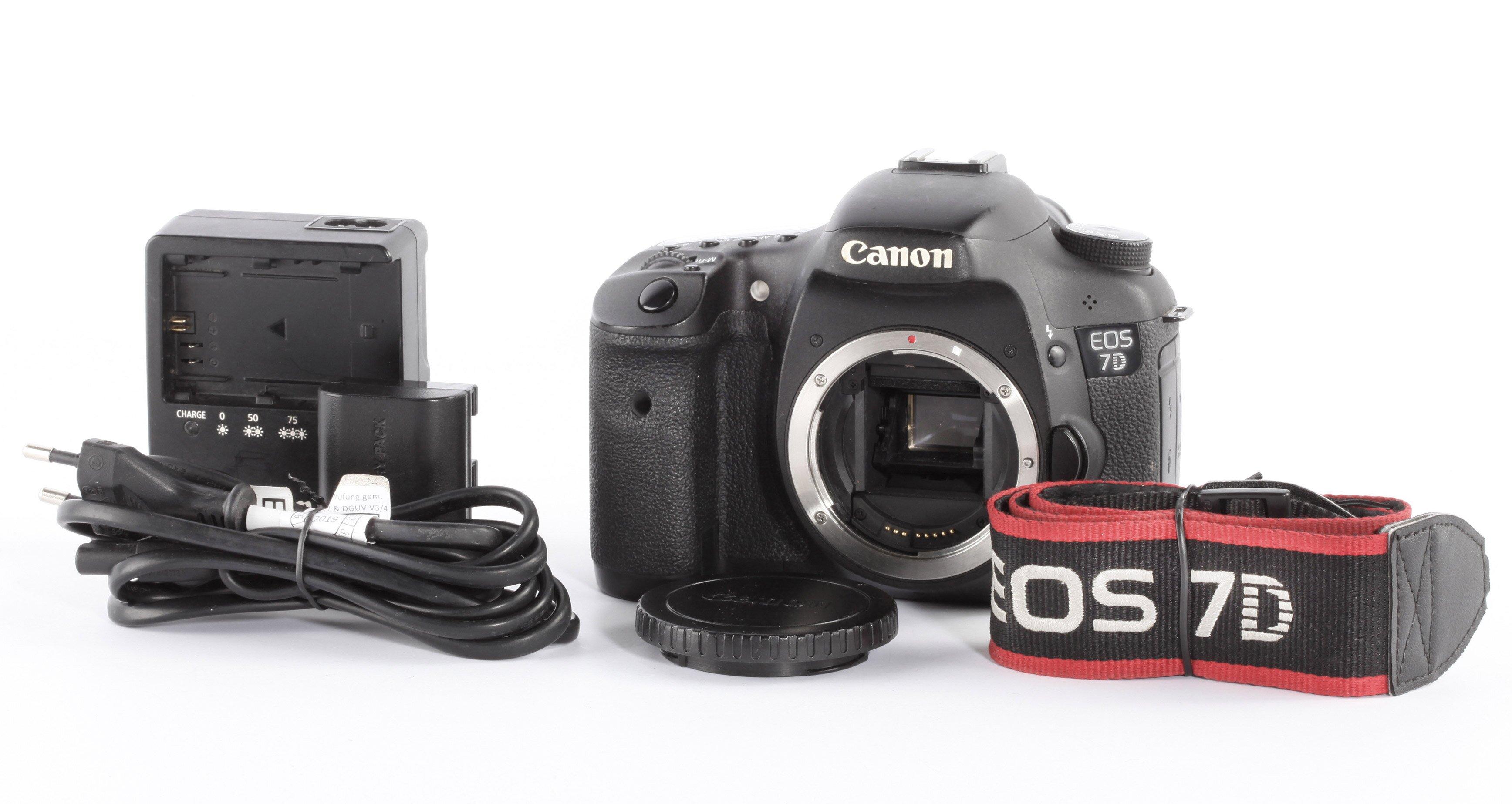 Canon EOS 7D Gehäuse 30100 Auslösungen