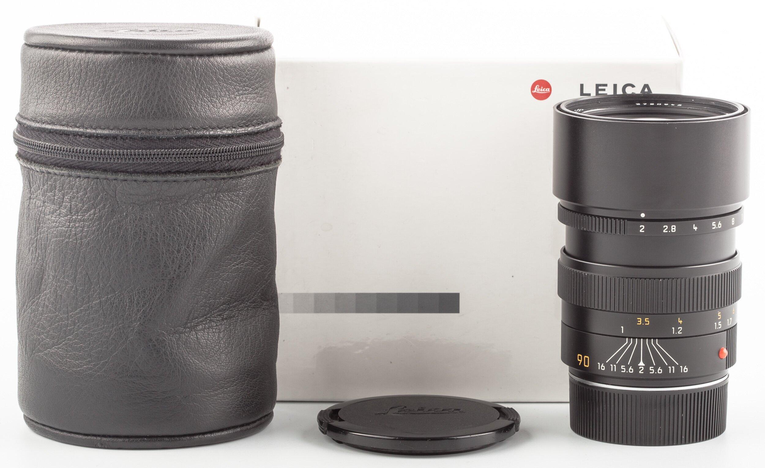 Leitz Leica M Summicron 90mm F2.0