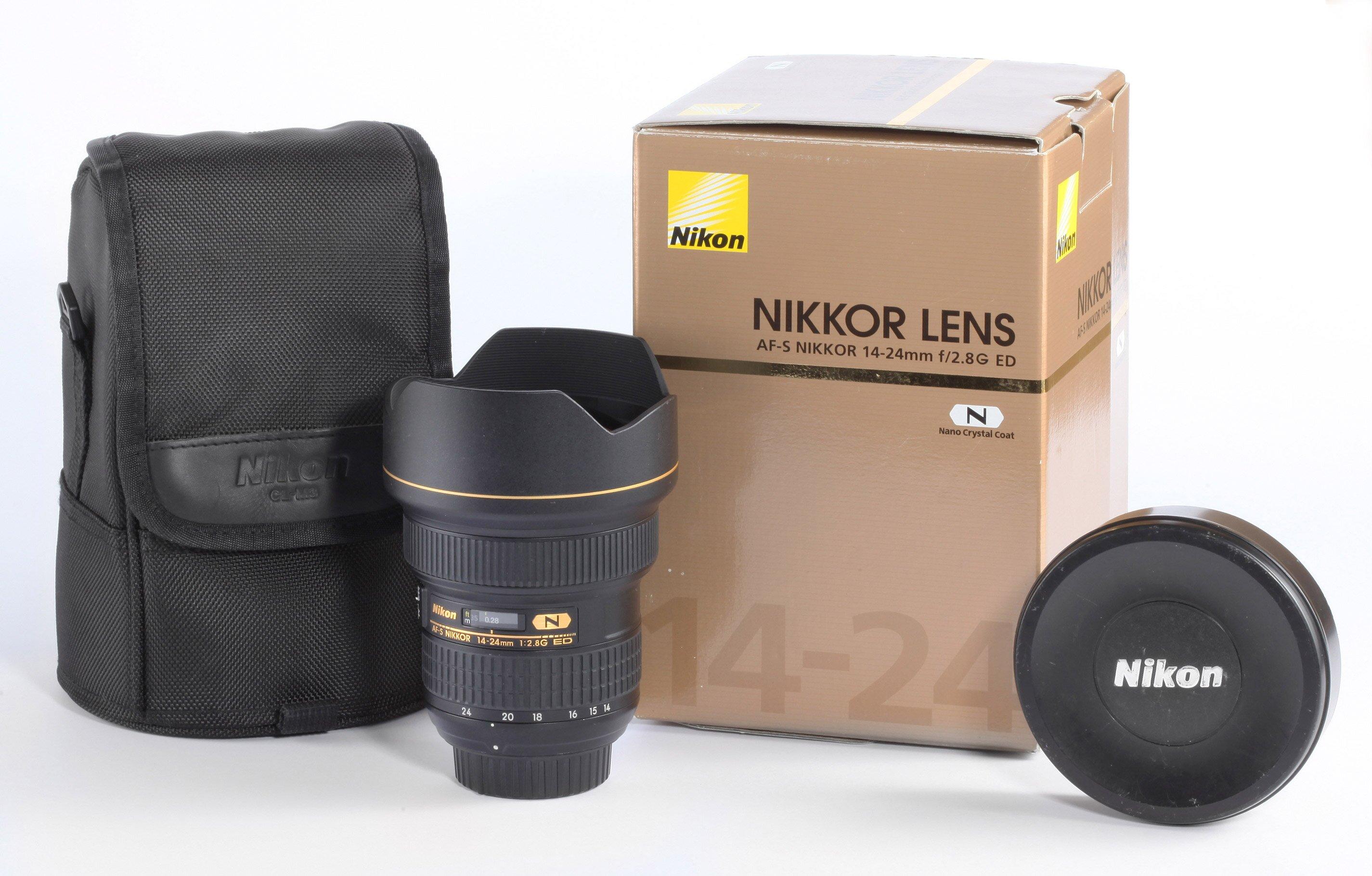 Nikon AF-S Nikkor 14-24mm/2,8G ED