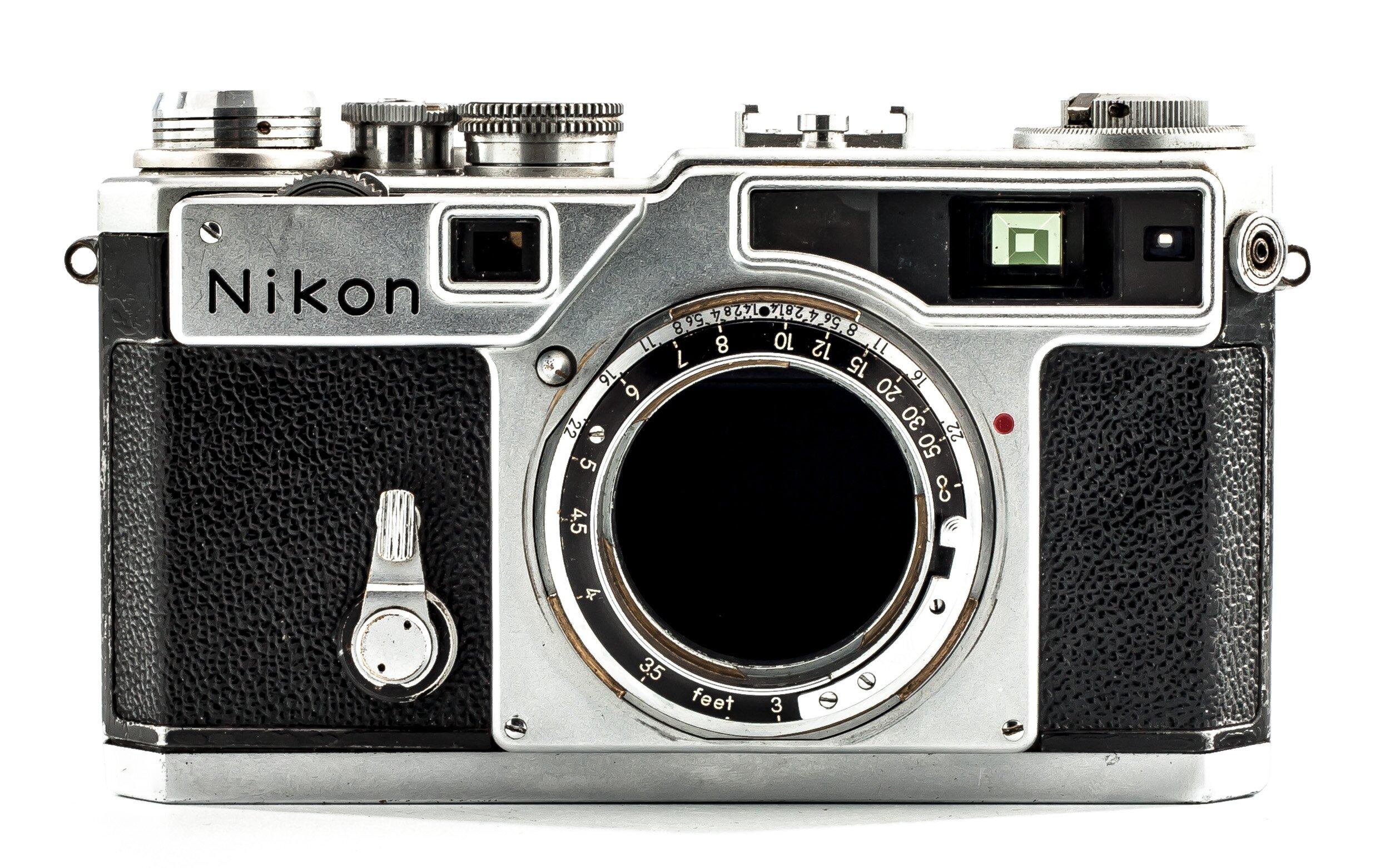 Nikon SP Gehäuse chrom