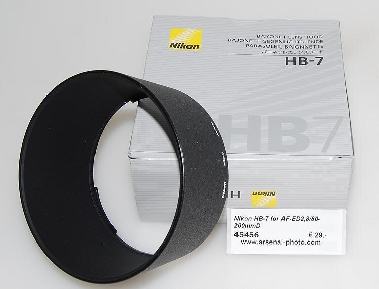 Nikon HB-7 for AF-ED2,8/80-200mmD