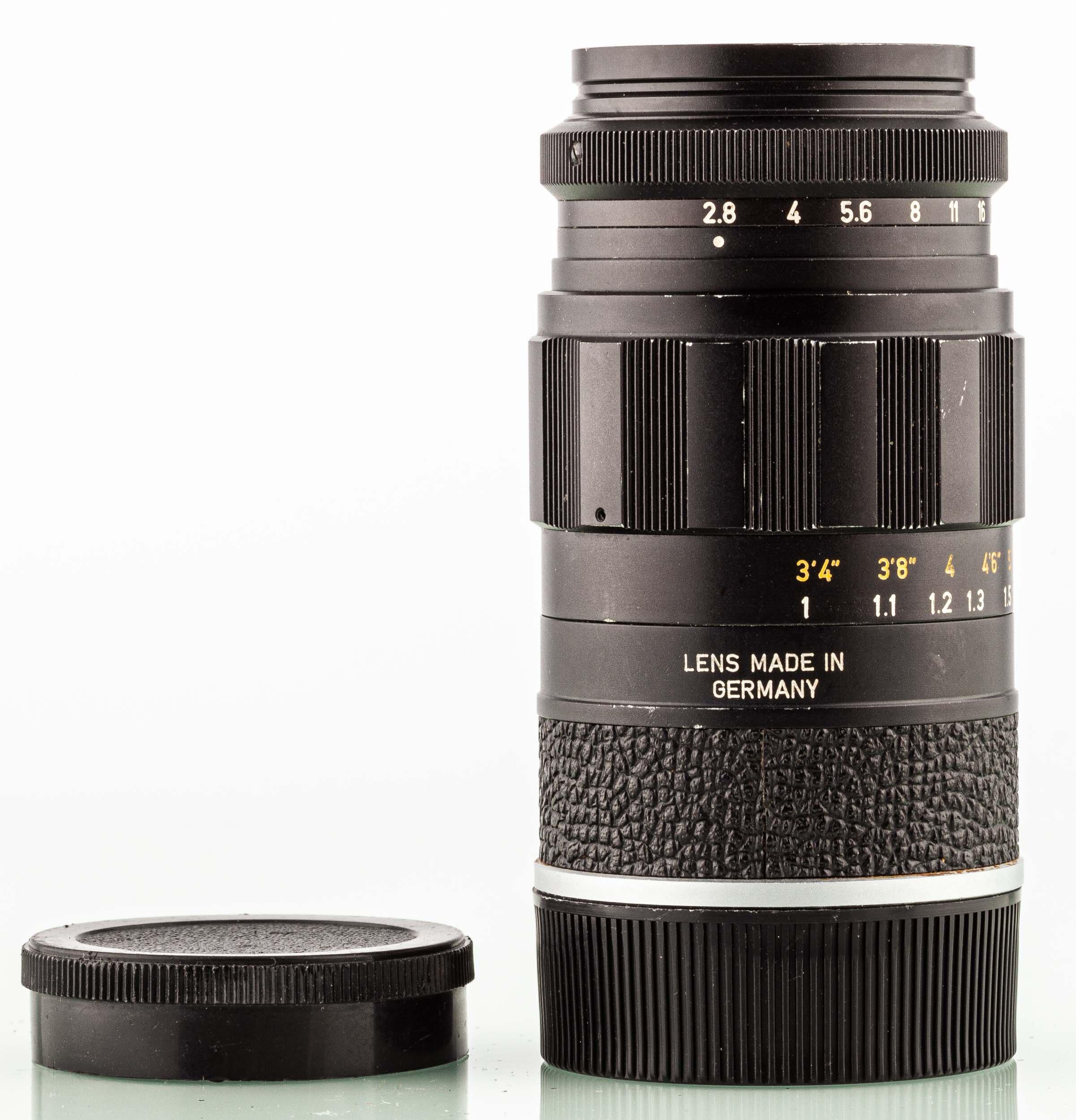 Leica M Elmarit 90mm F2.8 schwarz