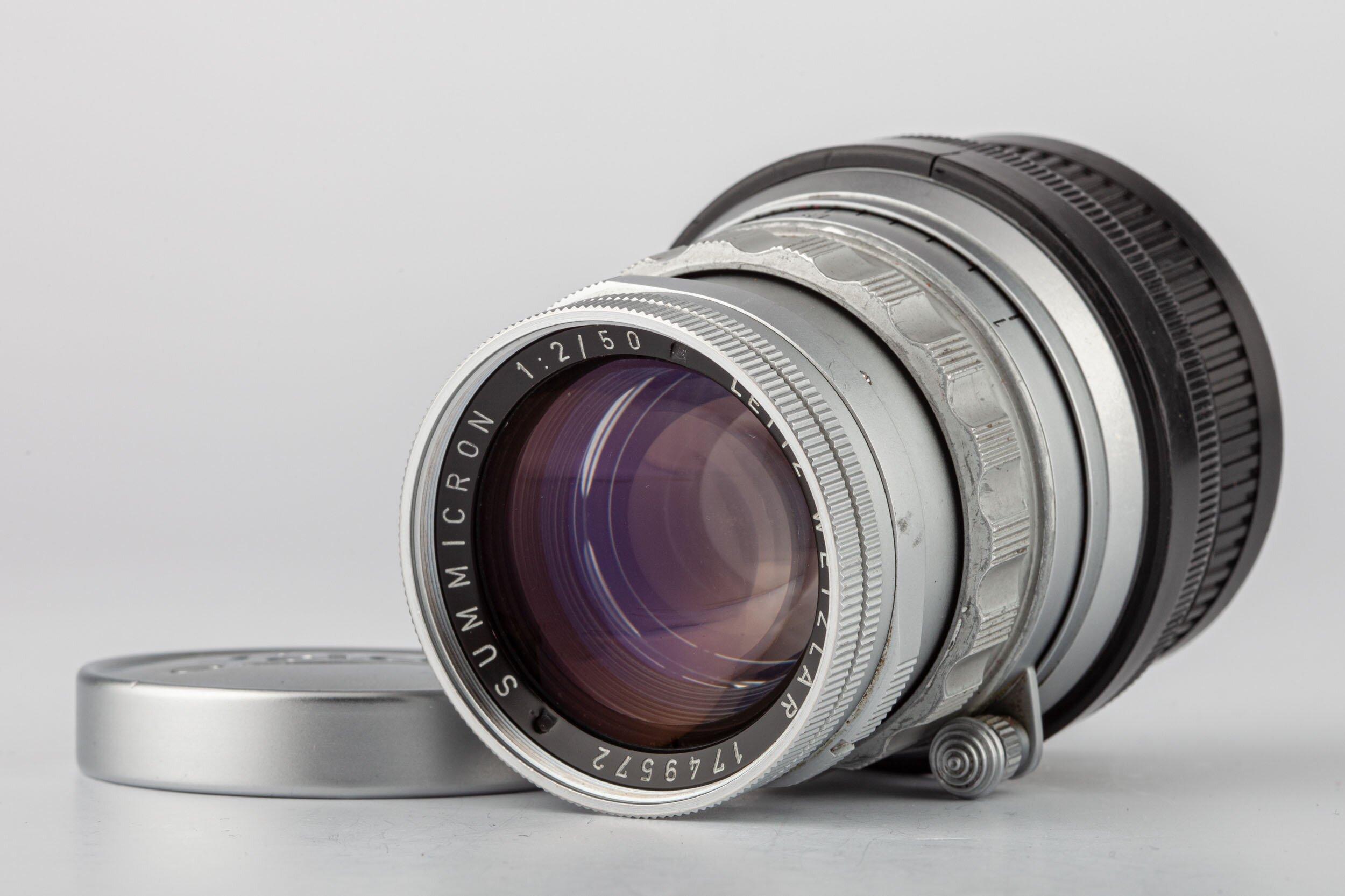 Leica M Summicron 2/50mm rigid SOSIC 11818
