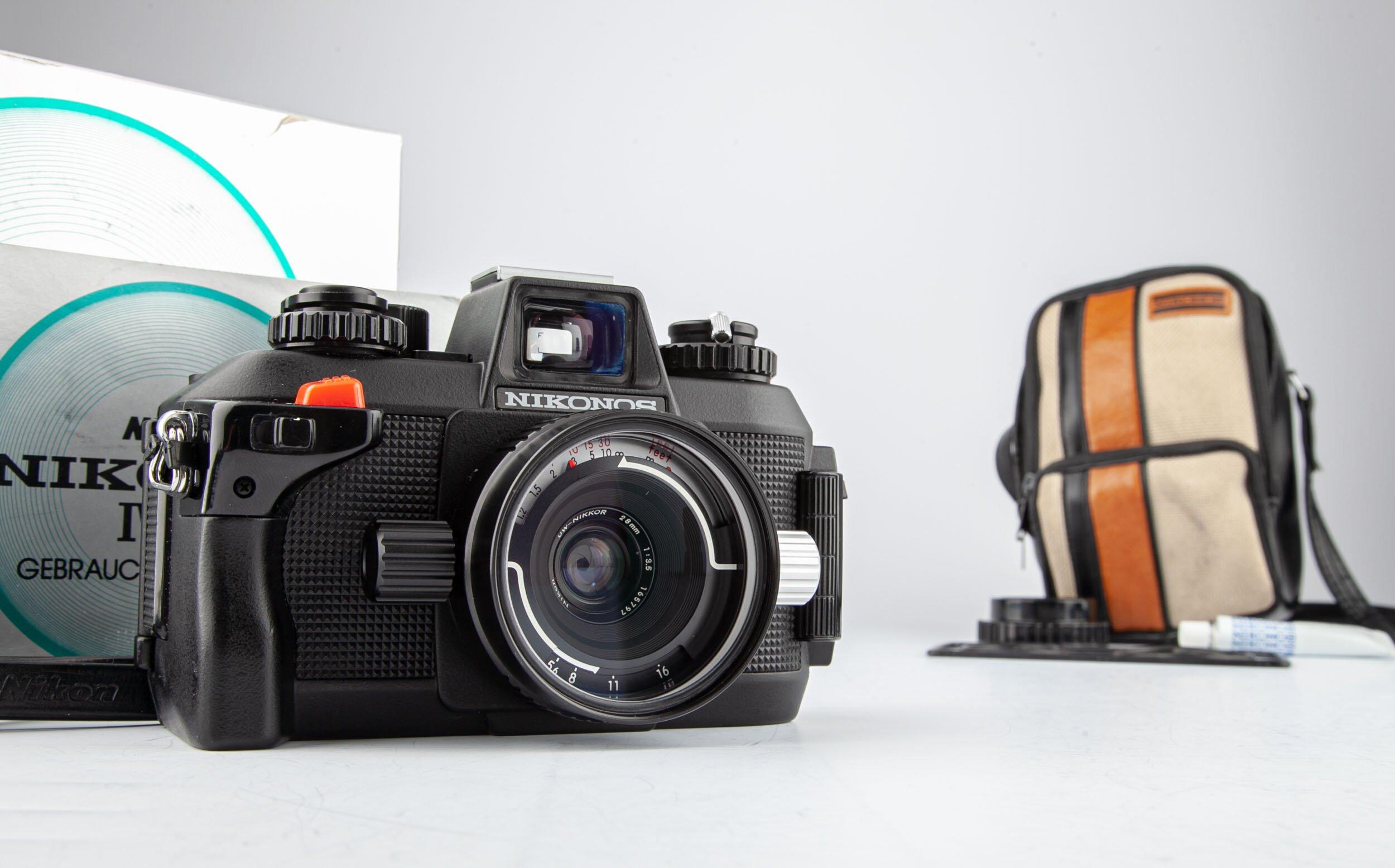 Nikon Nikonos IV-A Body with W-Nikkor 28mm F3.5