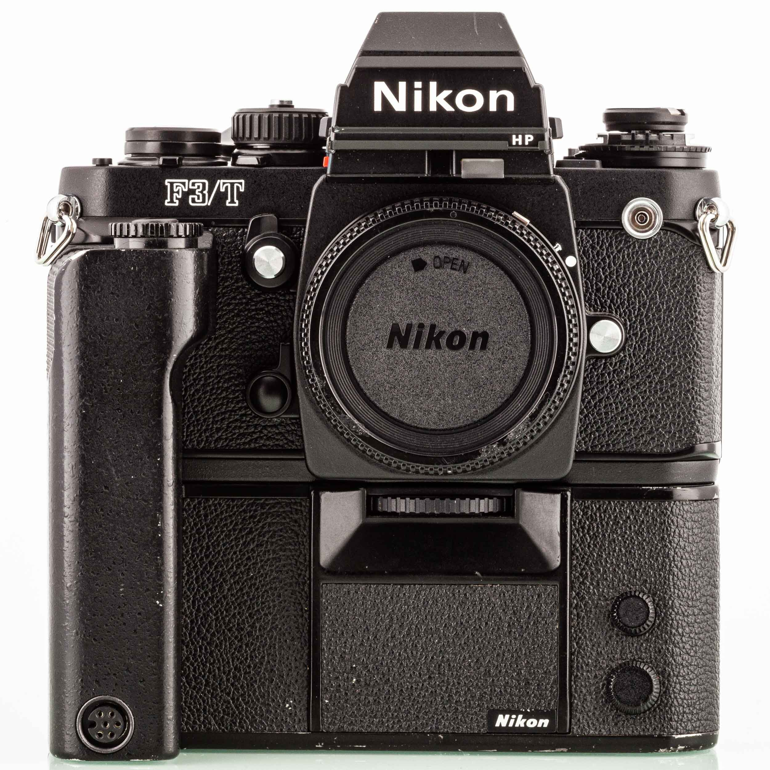 Nikon F3T Body with MD4 and MF14
