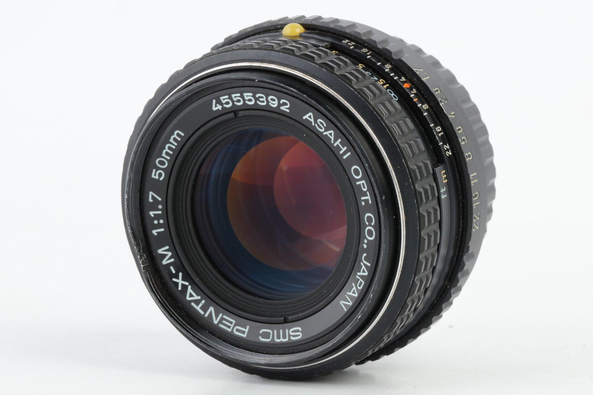 Pentax K 50mm 1,7 SMC Pentax-M