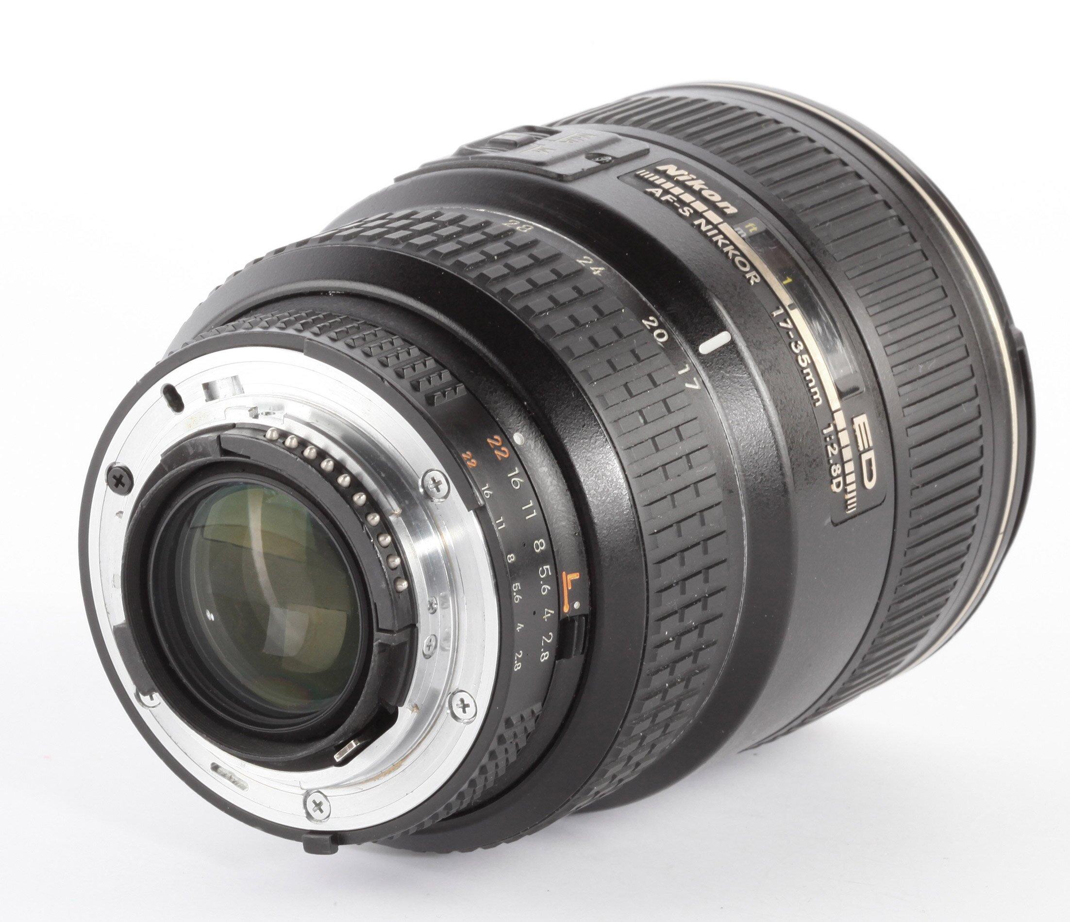 Nikon AF-S Nikkor ED 17-35/2,8D