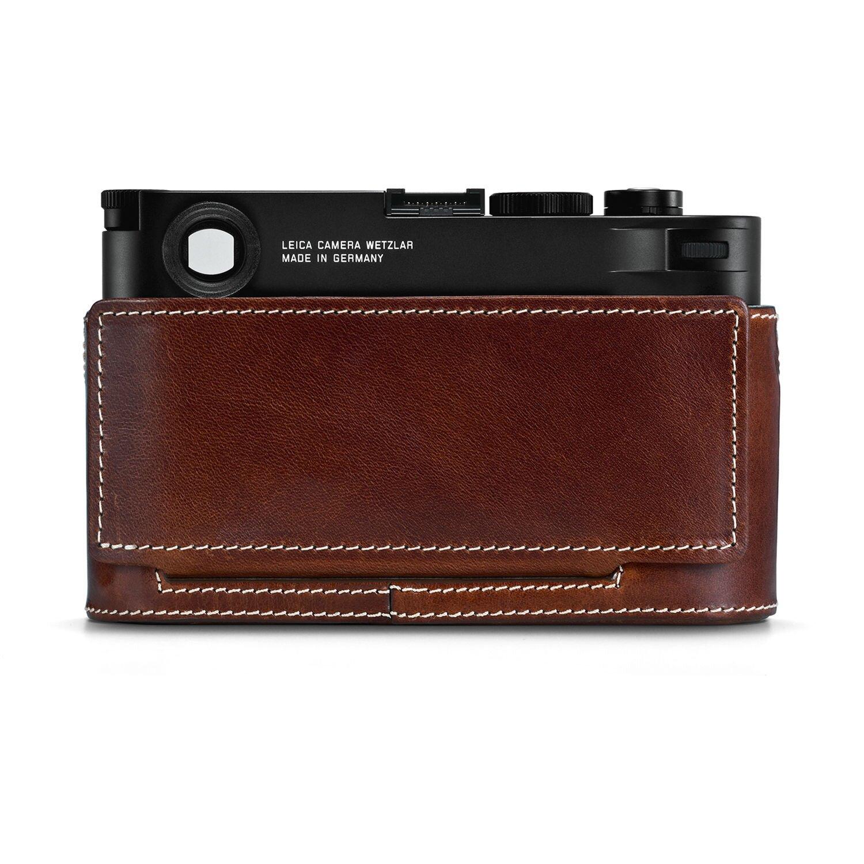 Leica Protektor M10, Leder, vintage braun 24021