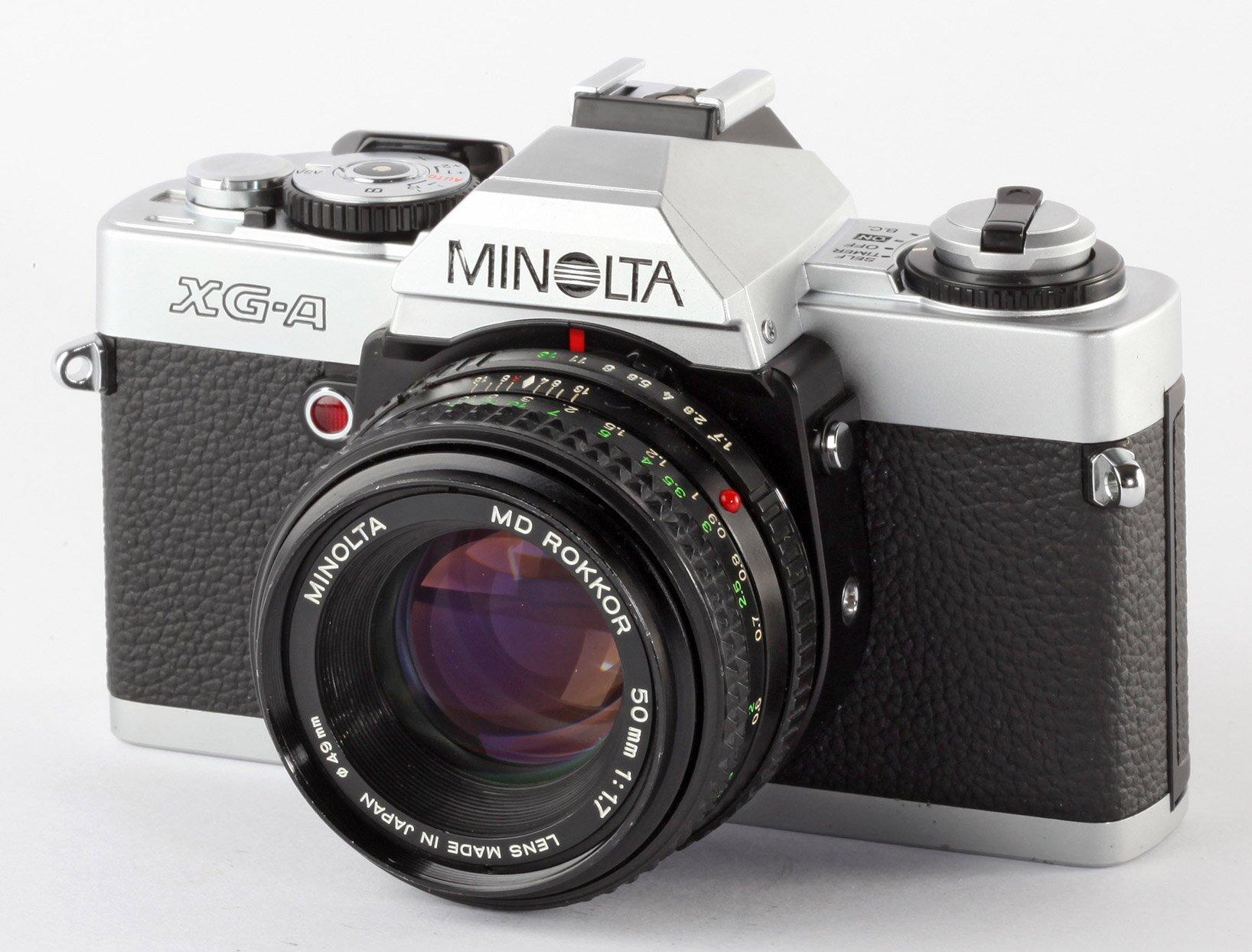 Minolta XG-A Analoge Spiegelreflexkamera