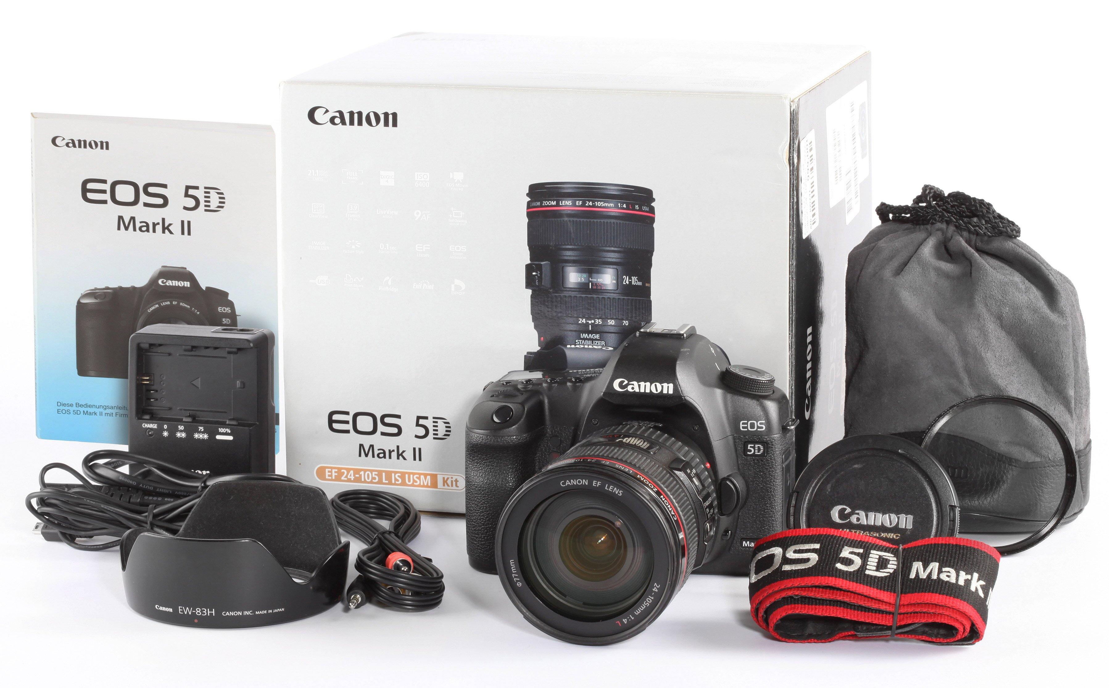 Canon EOS 5D Set Canon 24-105mm 20000 Auslösungen