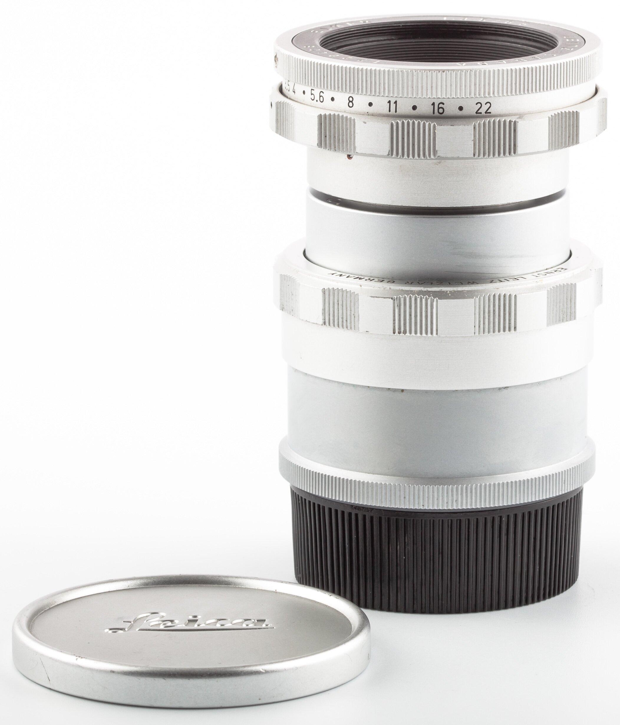 Leitz Leica M Elmar 65mm F3,5 Visoflex silver