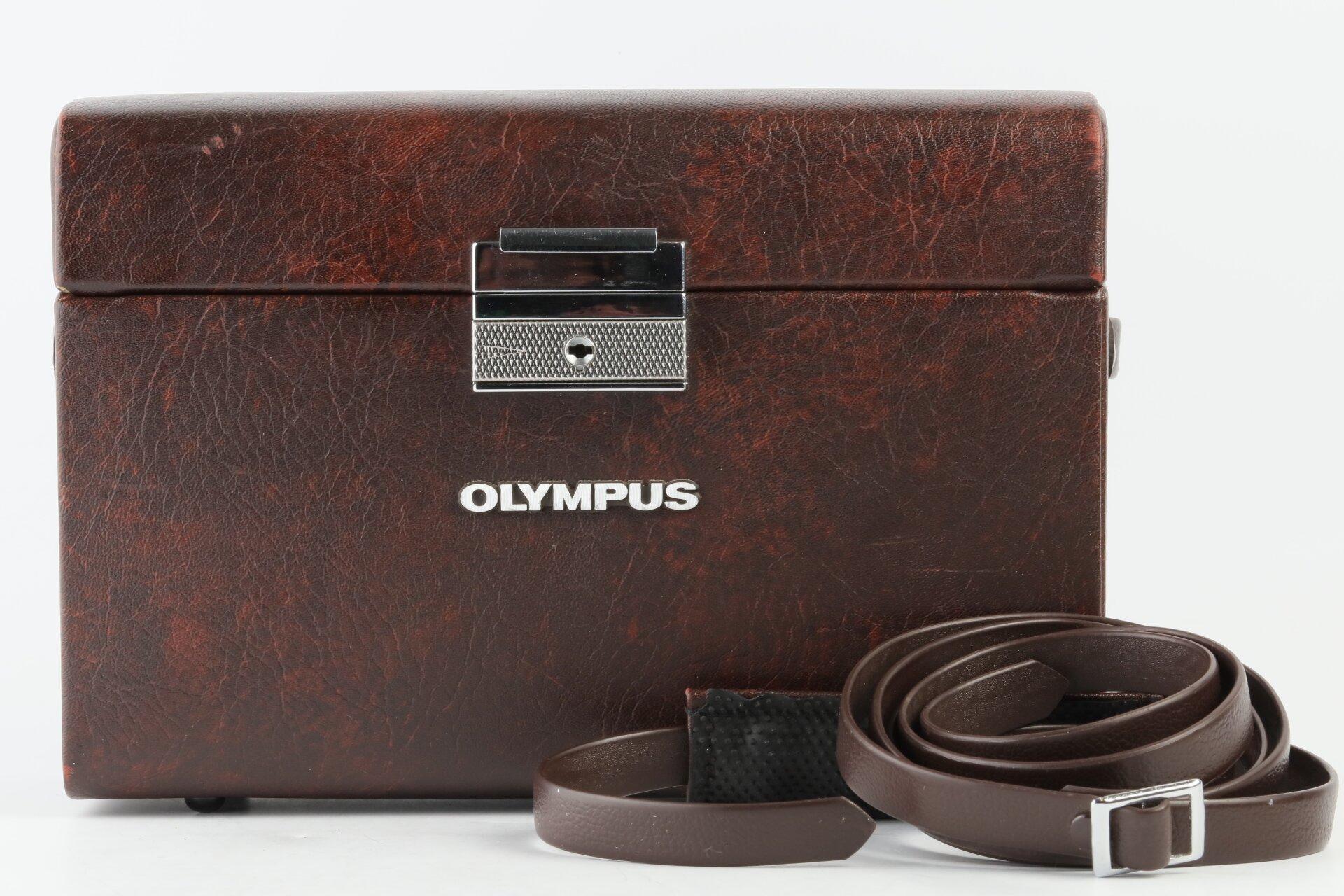 Olympus Ledertasche für OM