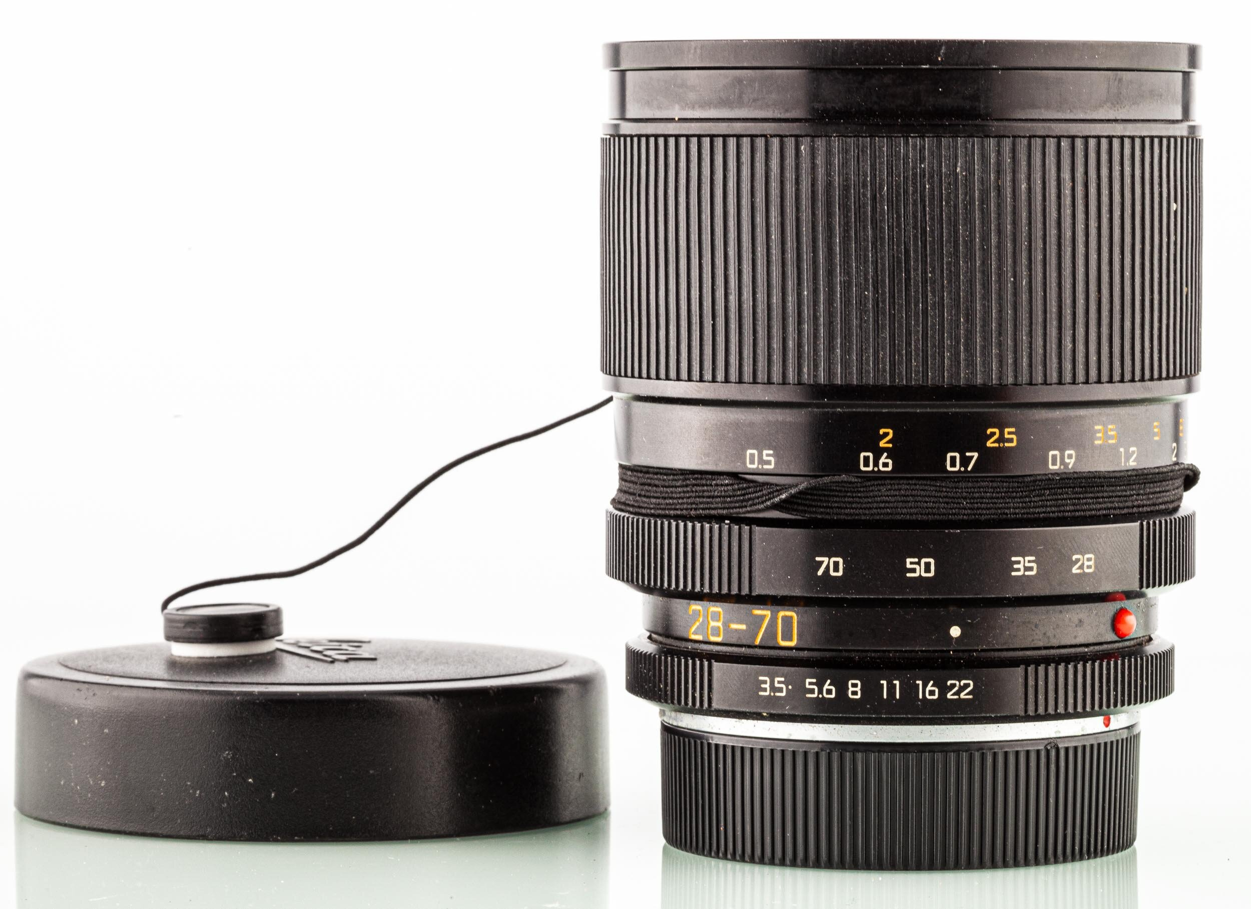 Leitz Leica R Vario Elmar 28-70mm F3.5-4.5 Black