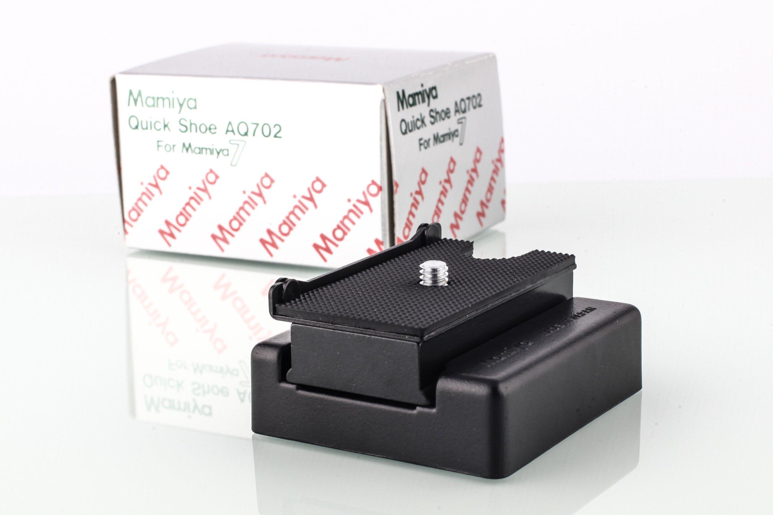 Mamiya 7 Quick Shoe AQ702 OVP