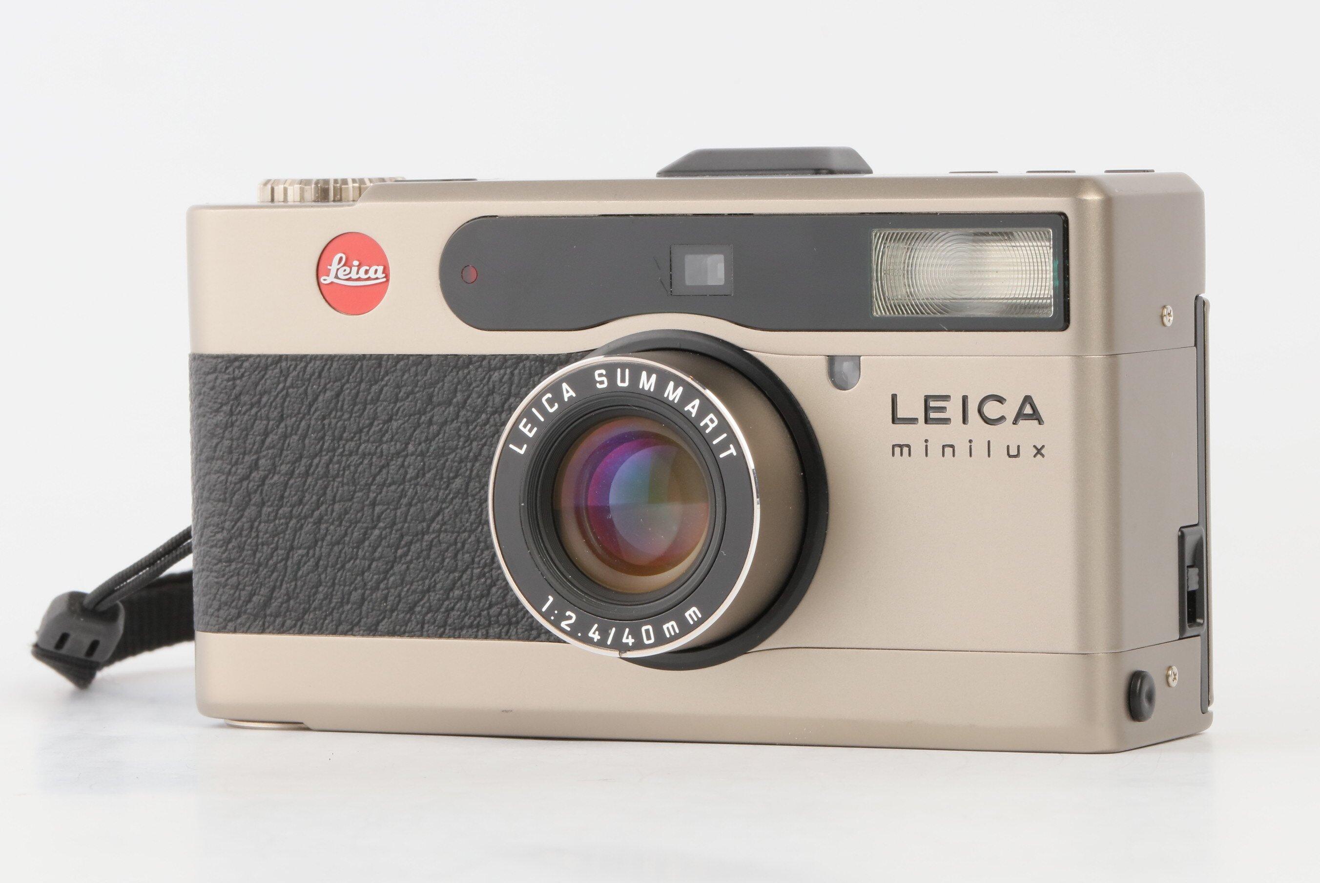 Leica minilux Summarit 2,4/40mm Titan