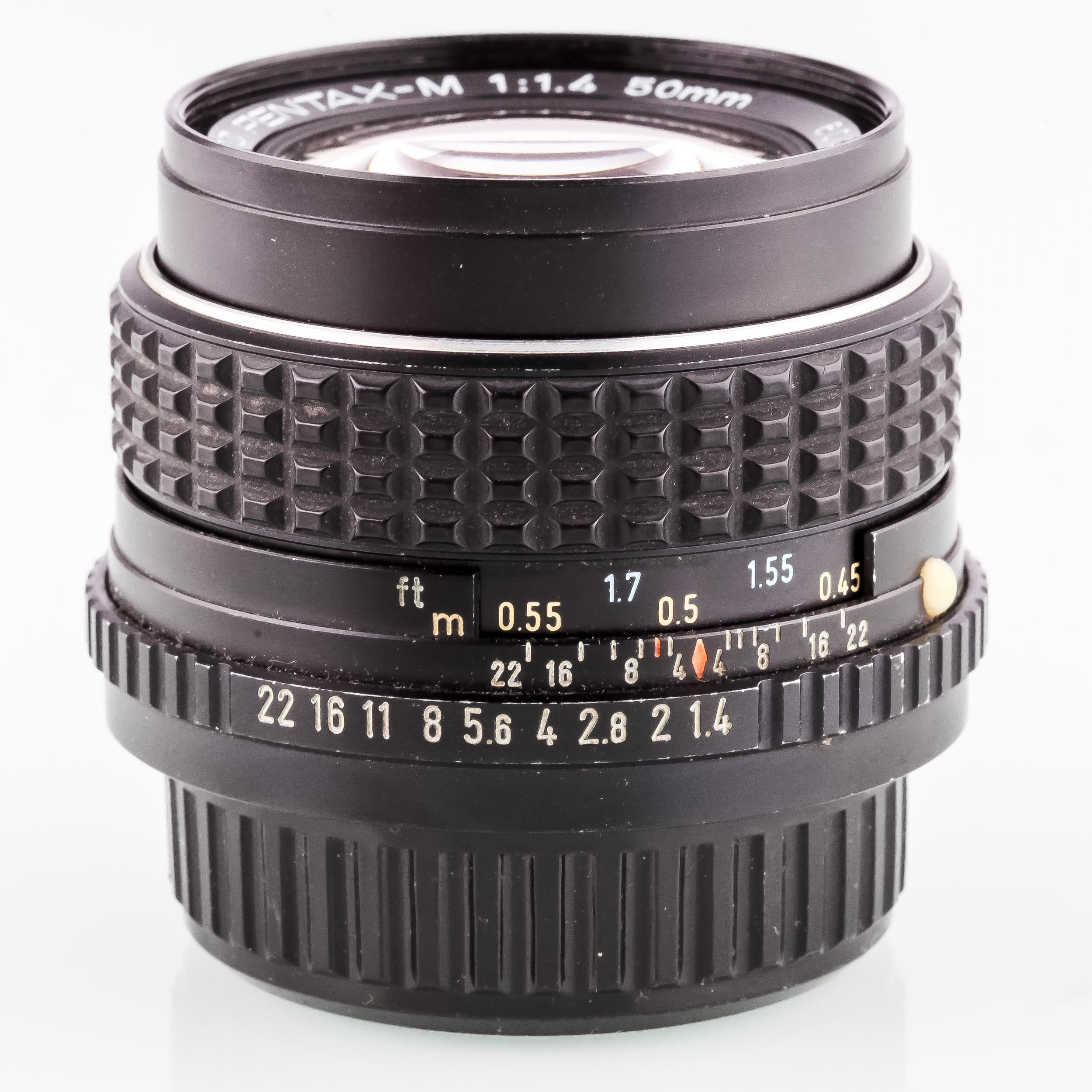 SMC Pentax-M 1,4/50mm