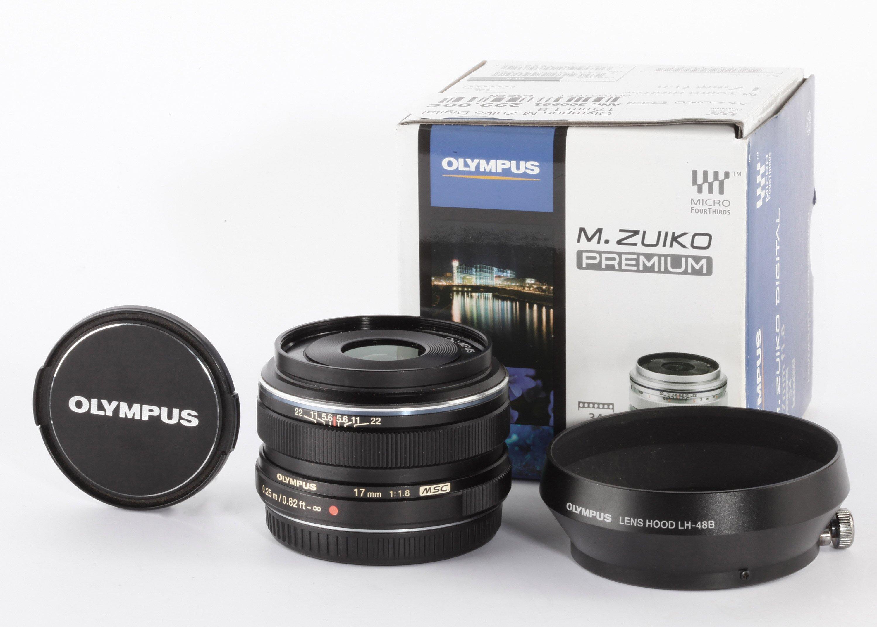 Olympus M.Zuiko Digital 17mm 1,8