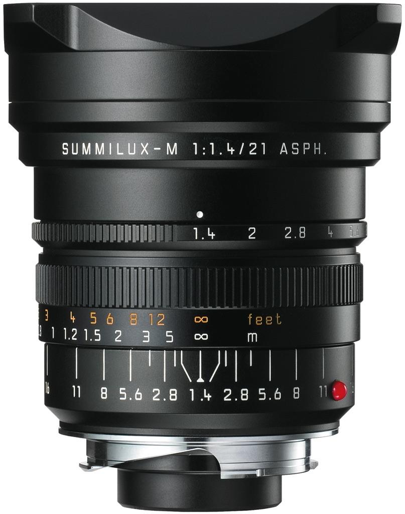 LEICA SUMMILUX-M 1.4/21 mm ASPH. schwarz eloxiert 11647