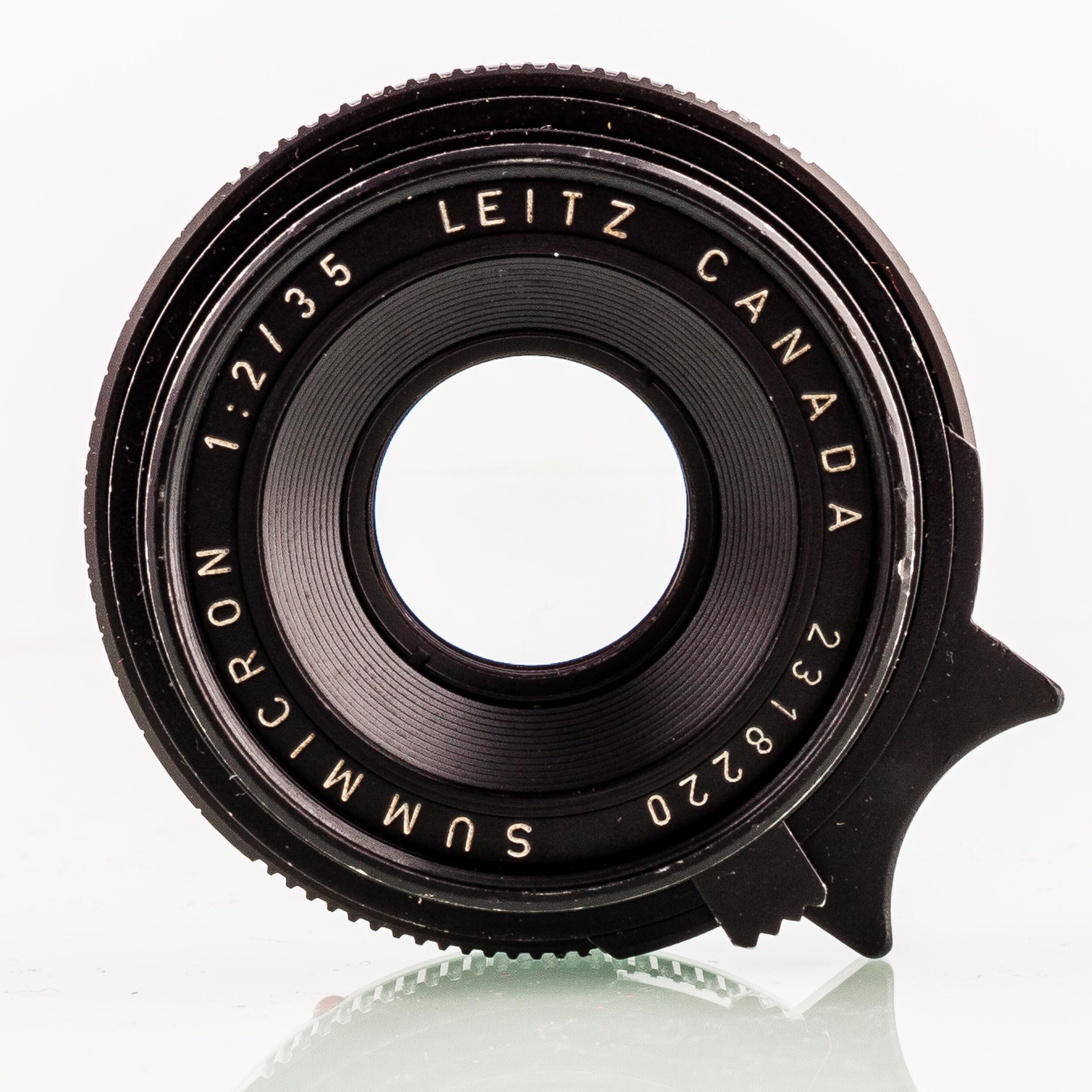 Leica Summicron-M 2/35mm black 1969