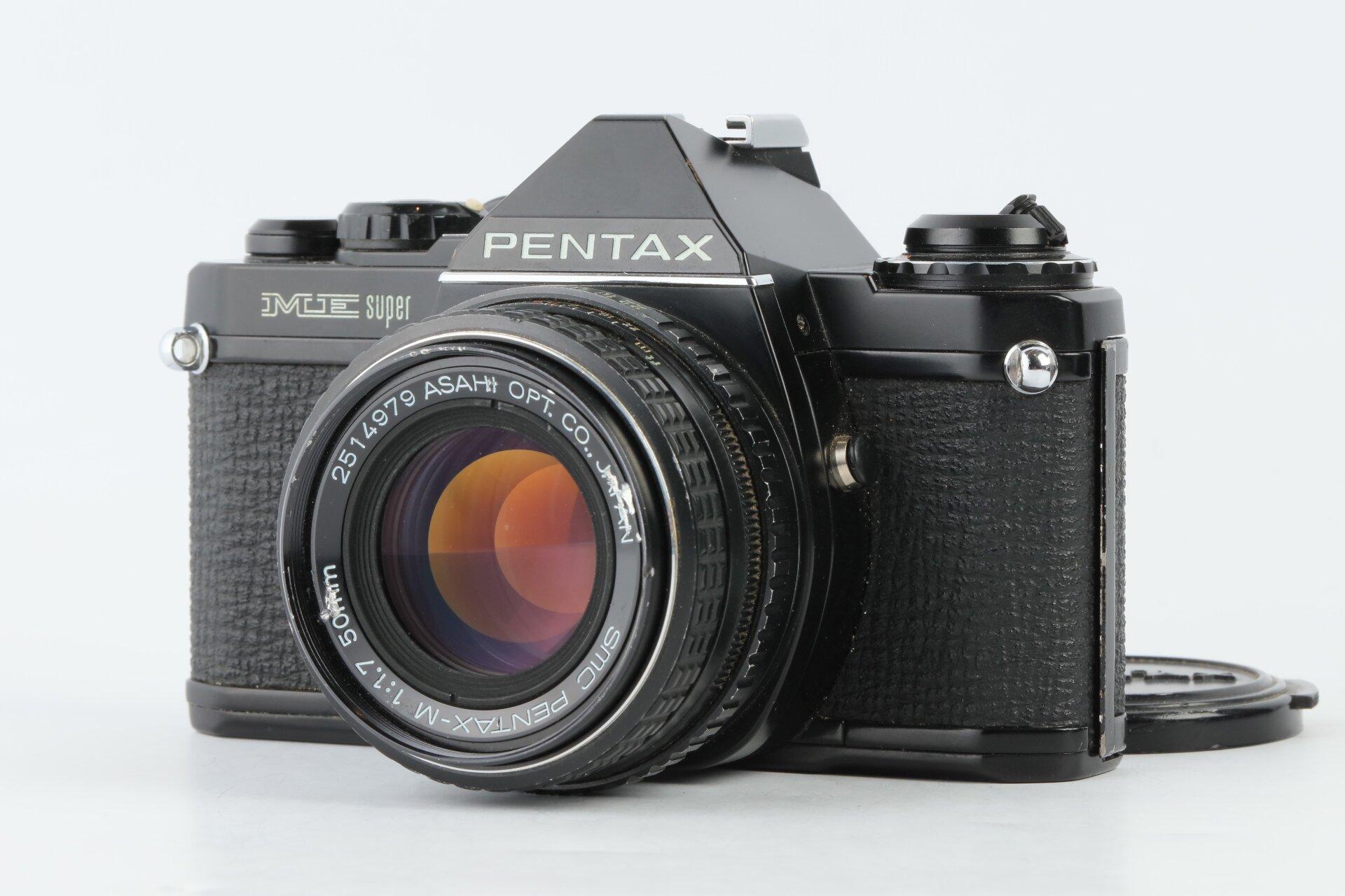 Pentax ME Super mit Pentax-M 1,7/50mm SMC