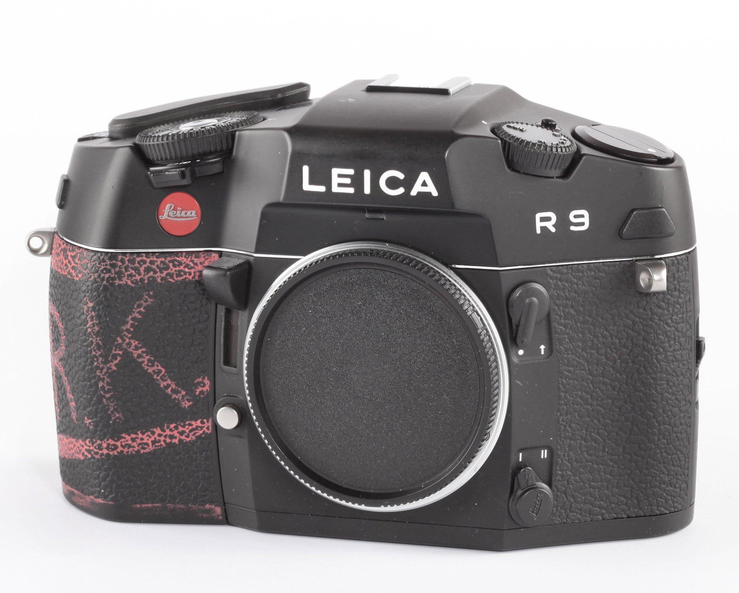 Leica R9 schwarz