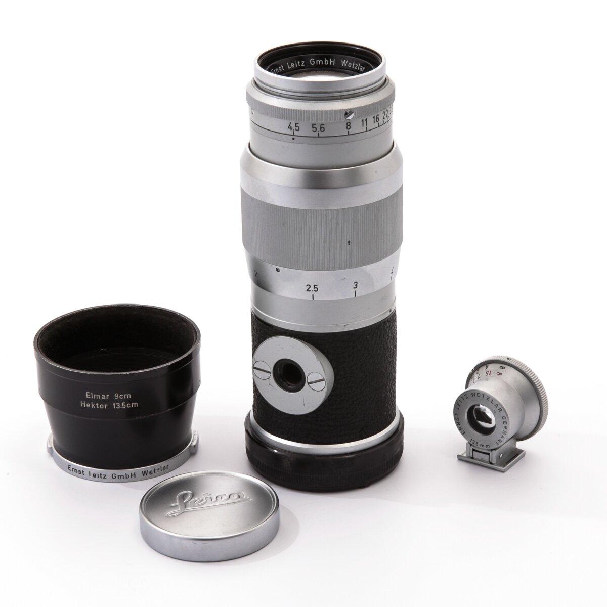 Leica M 1:4,5/13,5cm Hektor mit Sucher