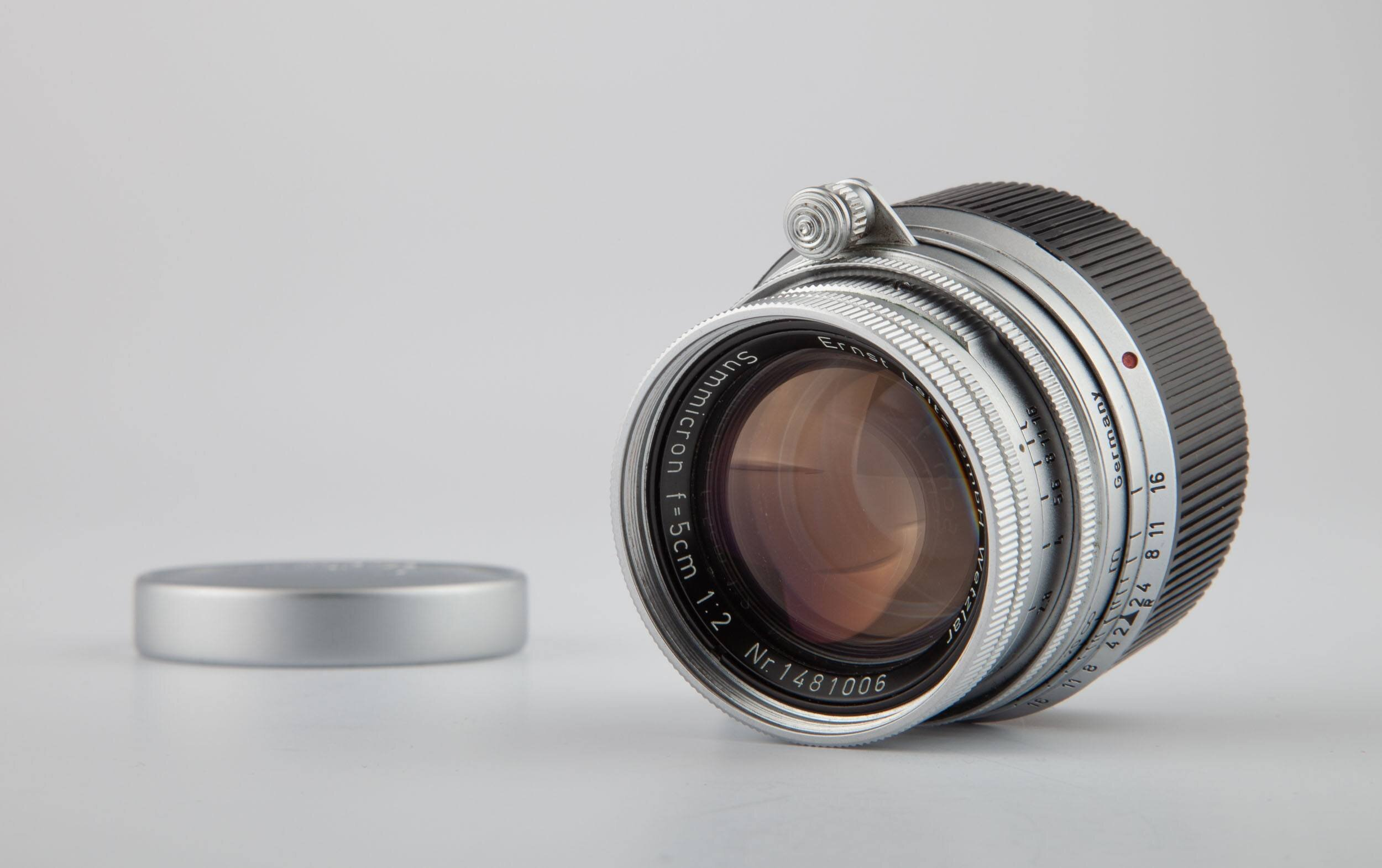 Leica Summicron-M F2 50mm chrom collapsable