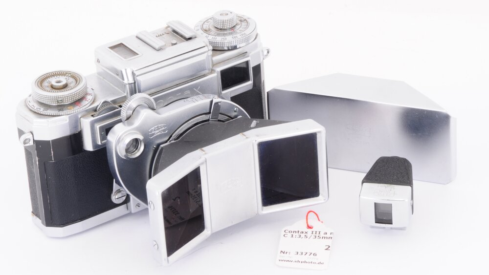 Contax IIIa mit Stereotar C 1:3,5/35mm RARE