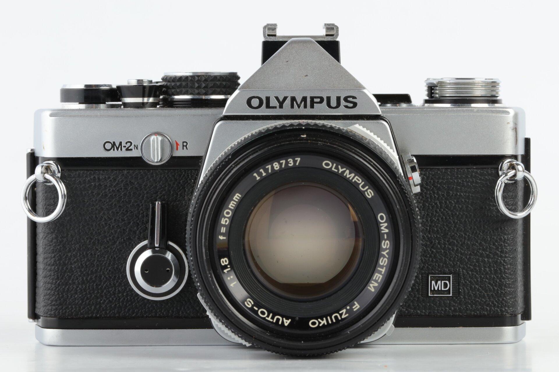 Olympus OM-2n chrom + Zuiko Auto-S 1,8/50mm