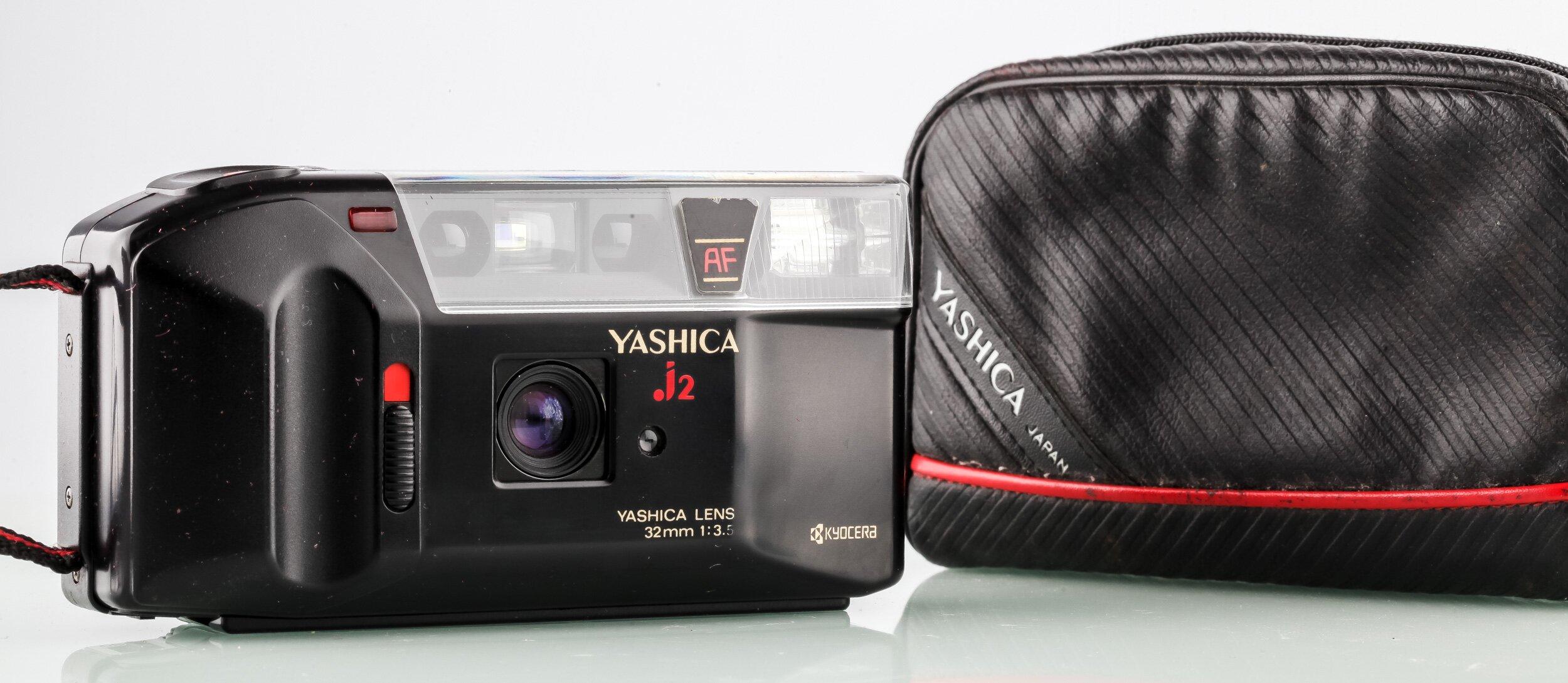 Yashica J2 mit 32mm 3,5 Kamera