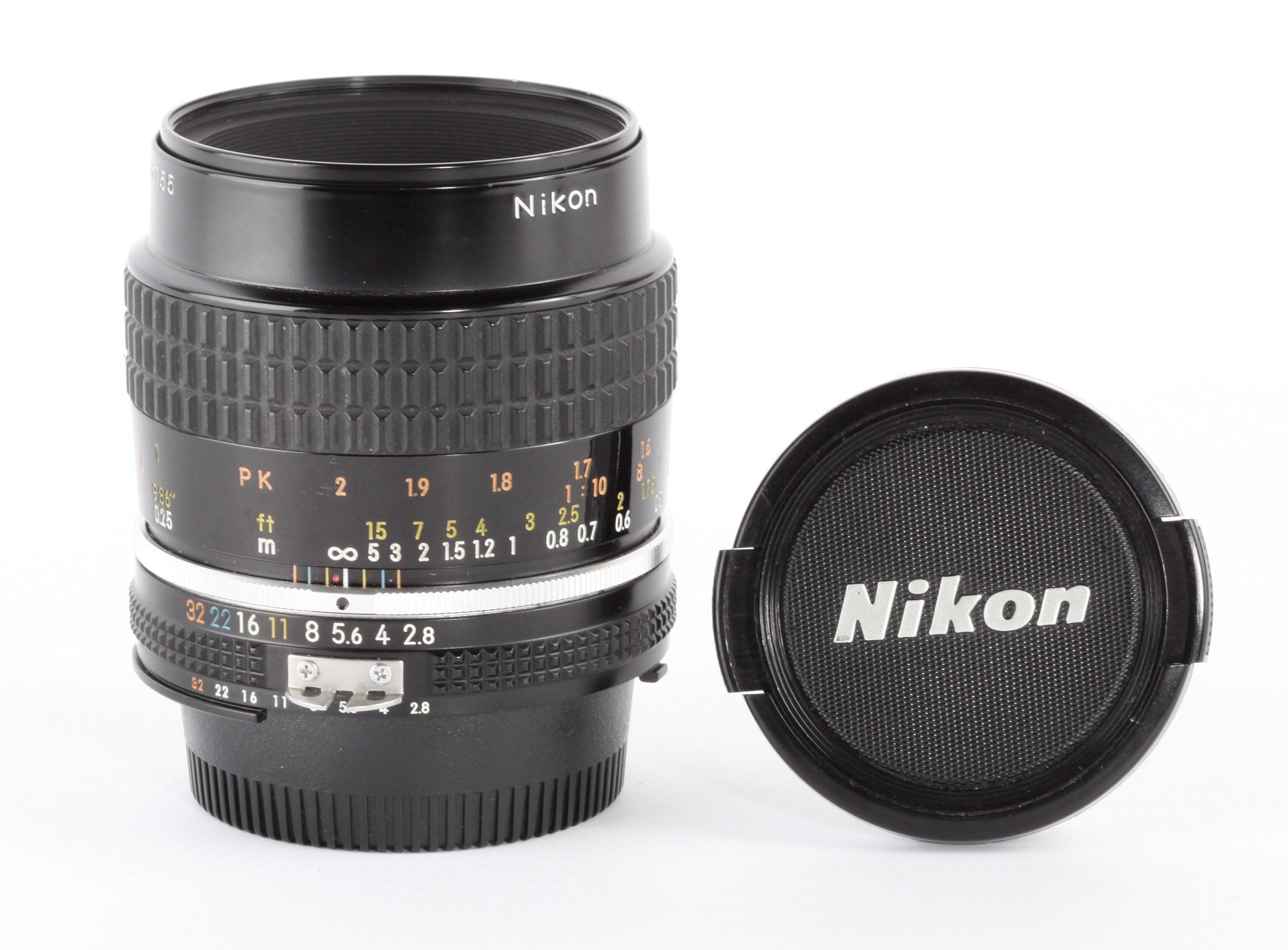 Nikon Micro-Nikkor 2,8/55mm Ais