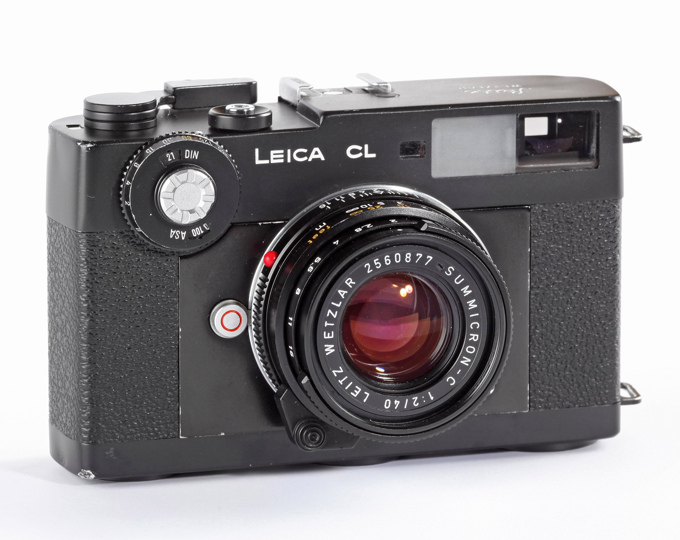 Leica CL Leitz Summicron-C 2/40mm schwarz