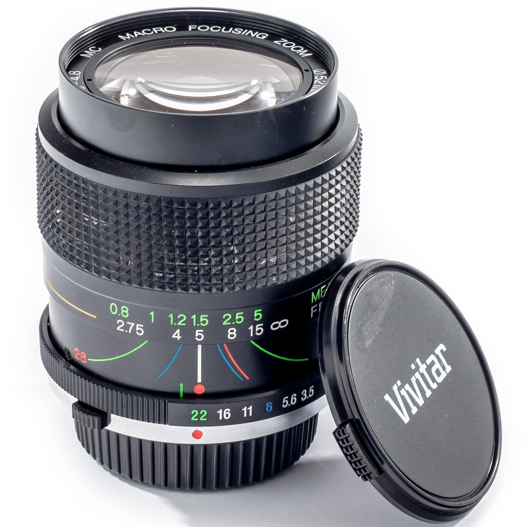 Vivitar f. Olympus 3,5-4,8/28-70mm Zoom Macro Focusing MC
