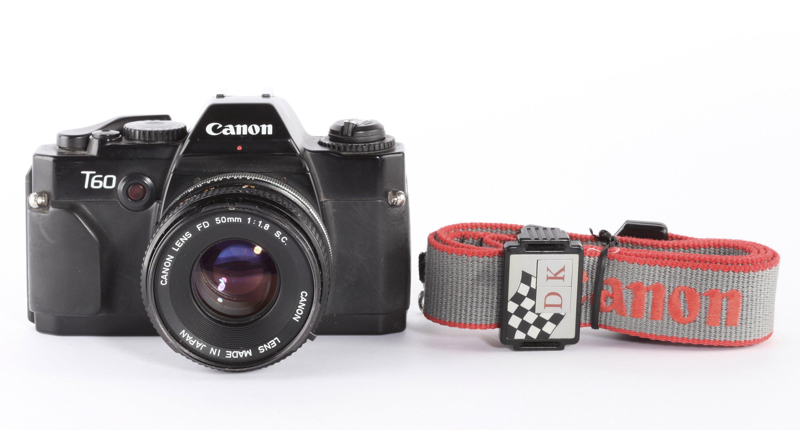 Canon T60 Canon FD 50mm/1,4