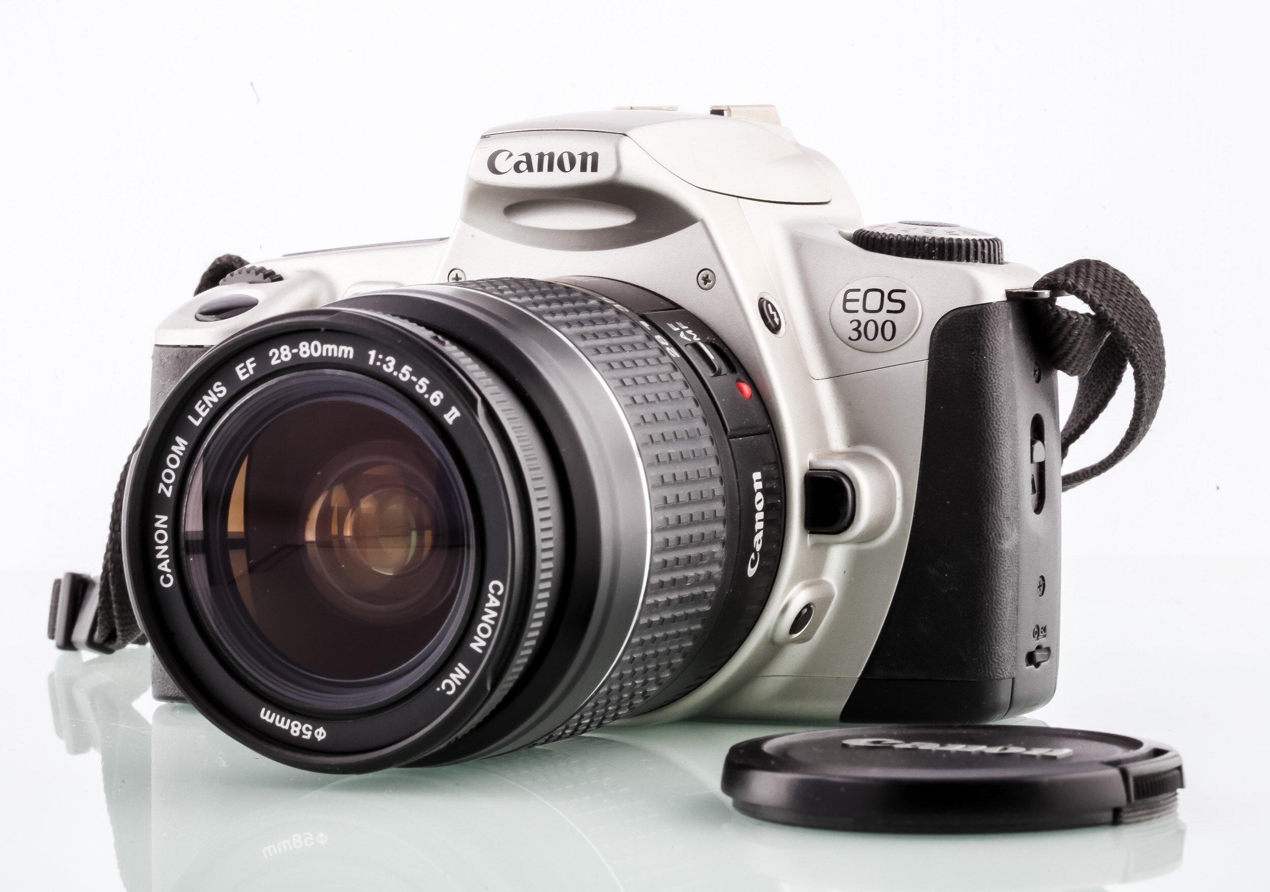 Canon EOS 300-Canon 28-80mm Analoge SLR Kamera