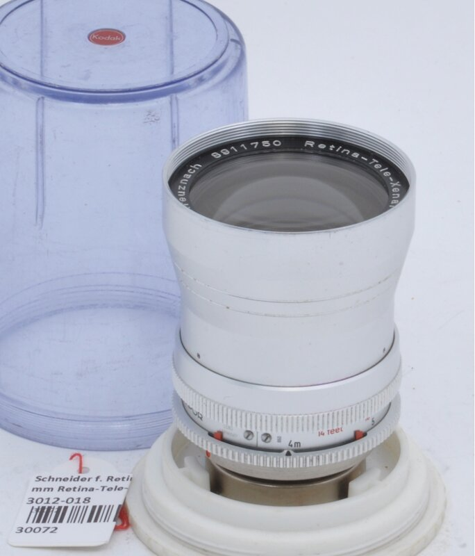 Schneider f. Retina 1:4/135 mm Retina-Tele-Xenar
