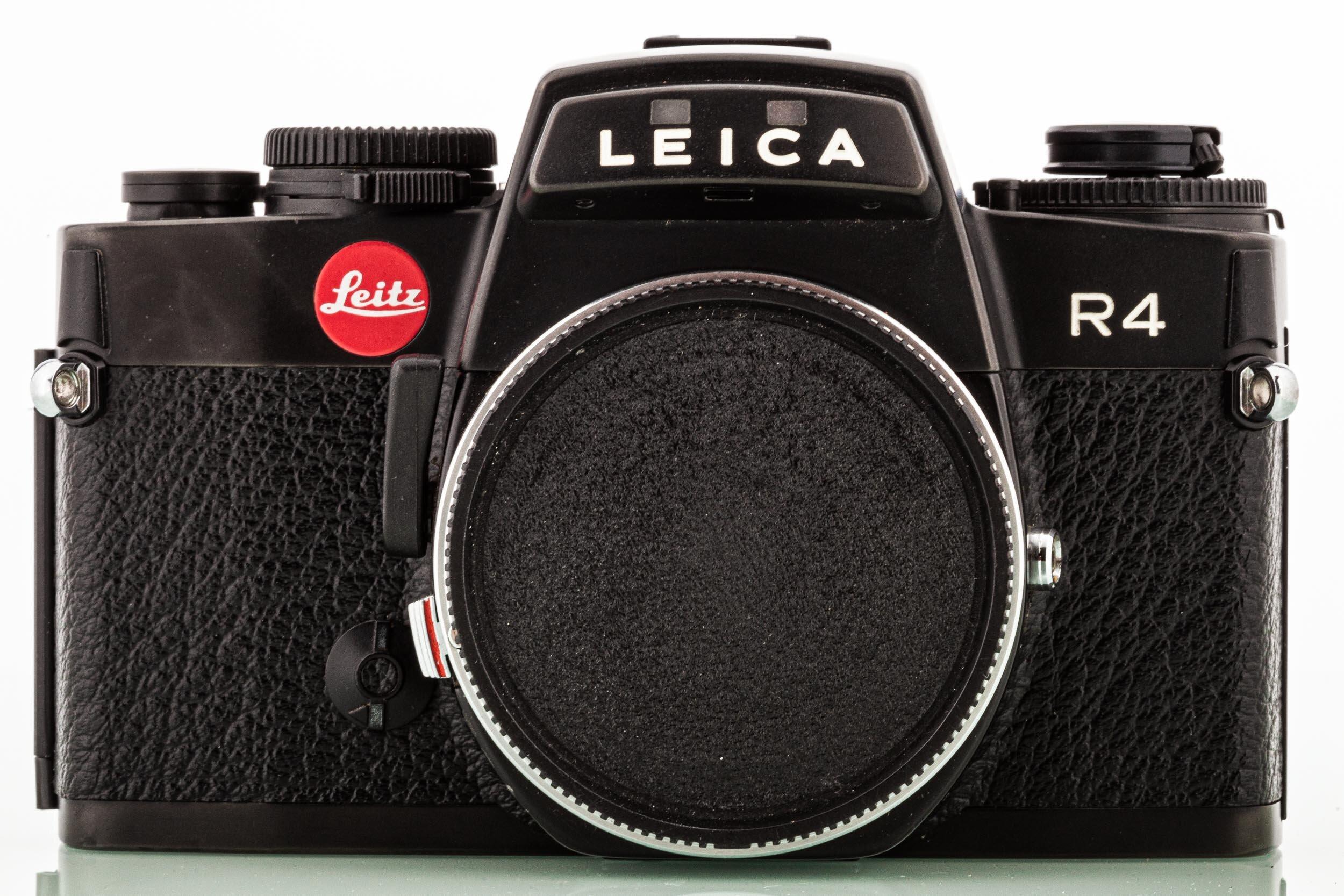 Leica R4 Gehäuse schwarz